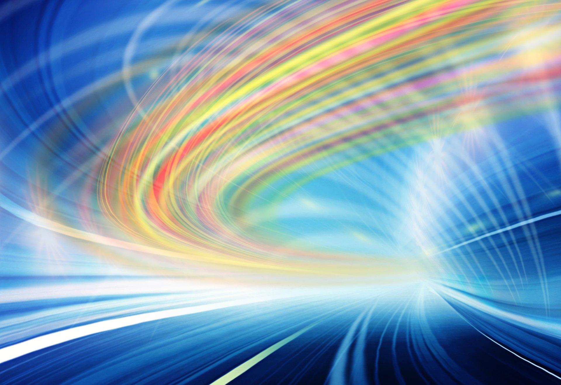 Свет скорость цвета линии частицы загрузить