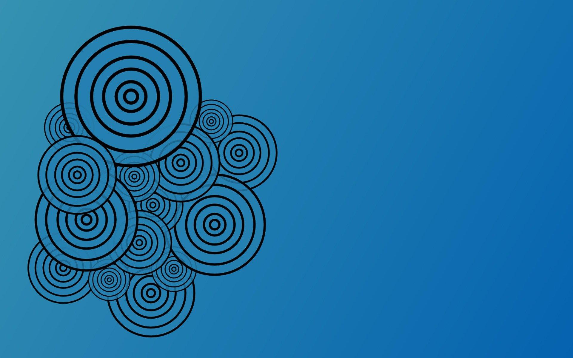графика абстракция круги цвета скачать