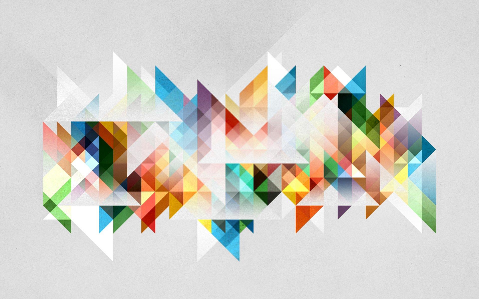 Обои абстракции, цвета, фигуры, лучи. Абстракции foto 14