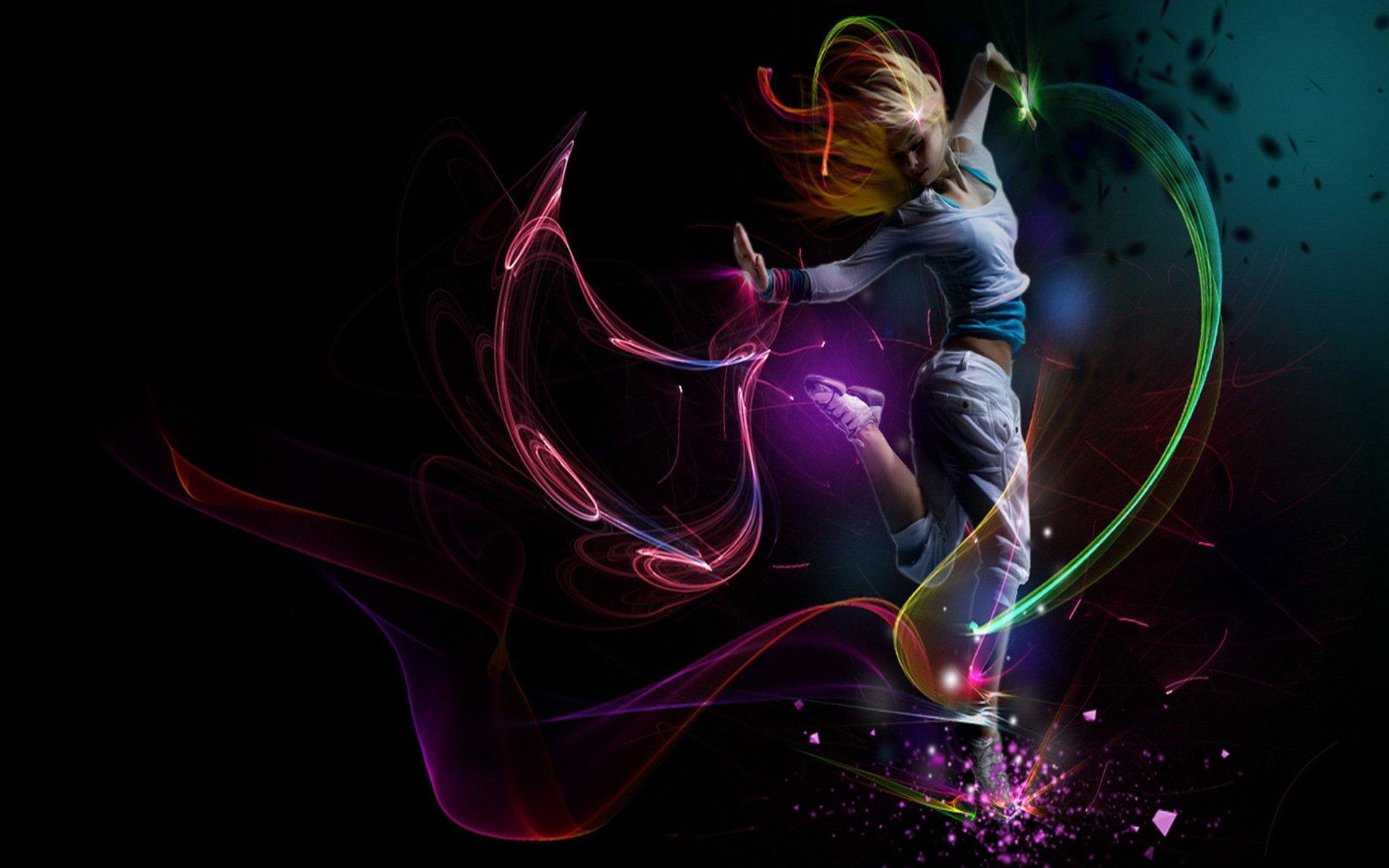 Танец красивой девушки  № 350543 бесплатно
