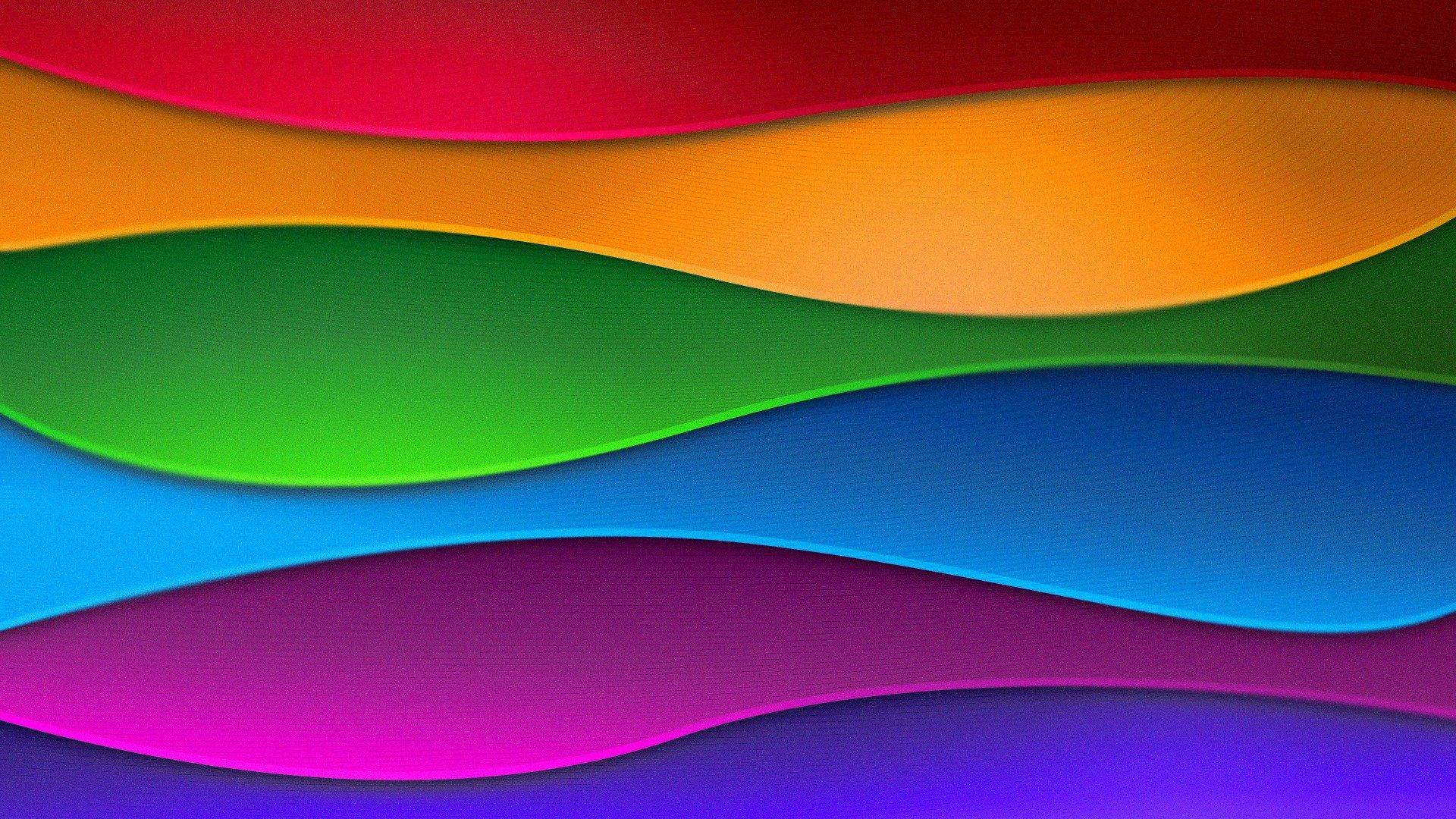 Абстрактные цветные линии загрузить