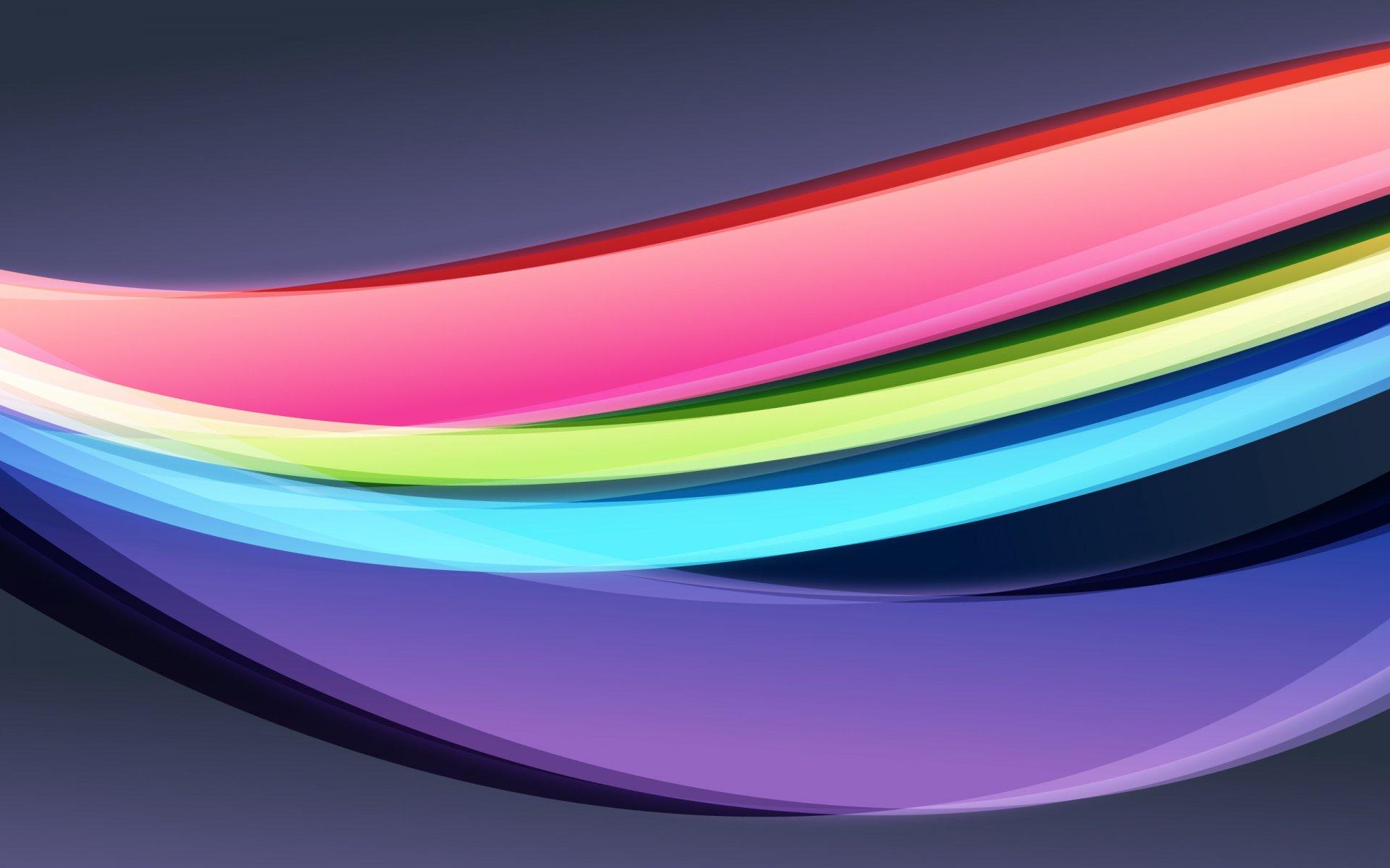 Обои Цвет, краски, изгиб, волны. Абстракции foto 13