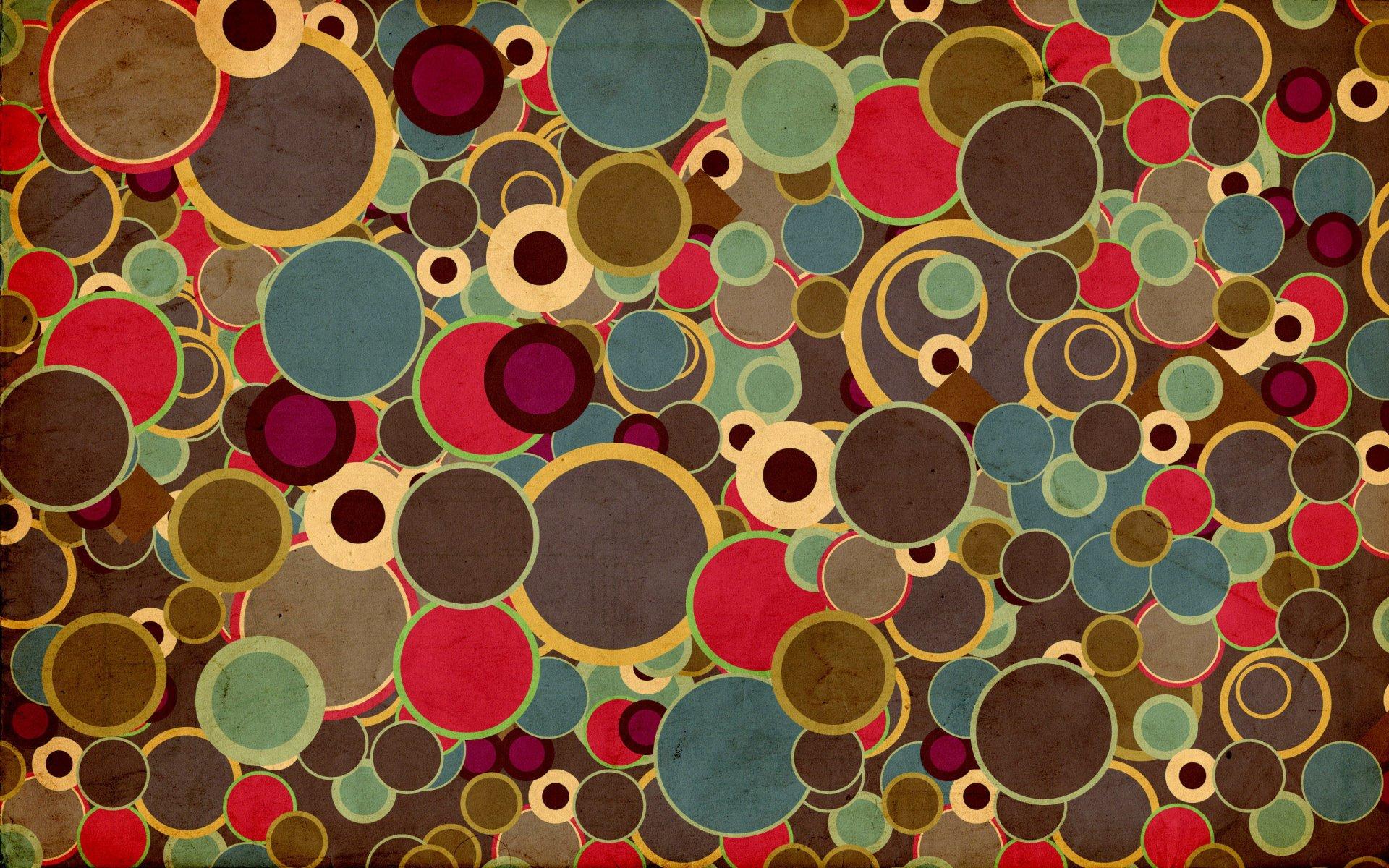 Картинки абстракции круги