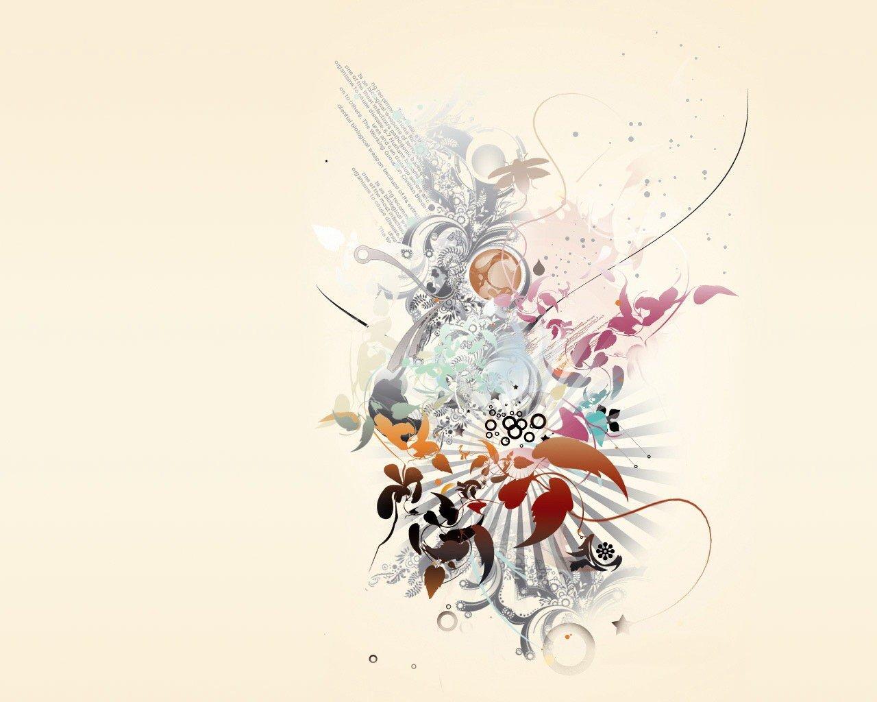 Креативная графика открытка, картинки