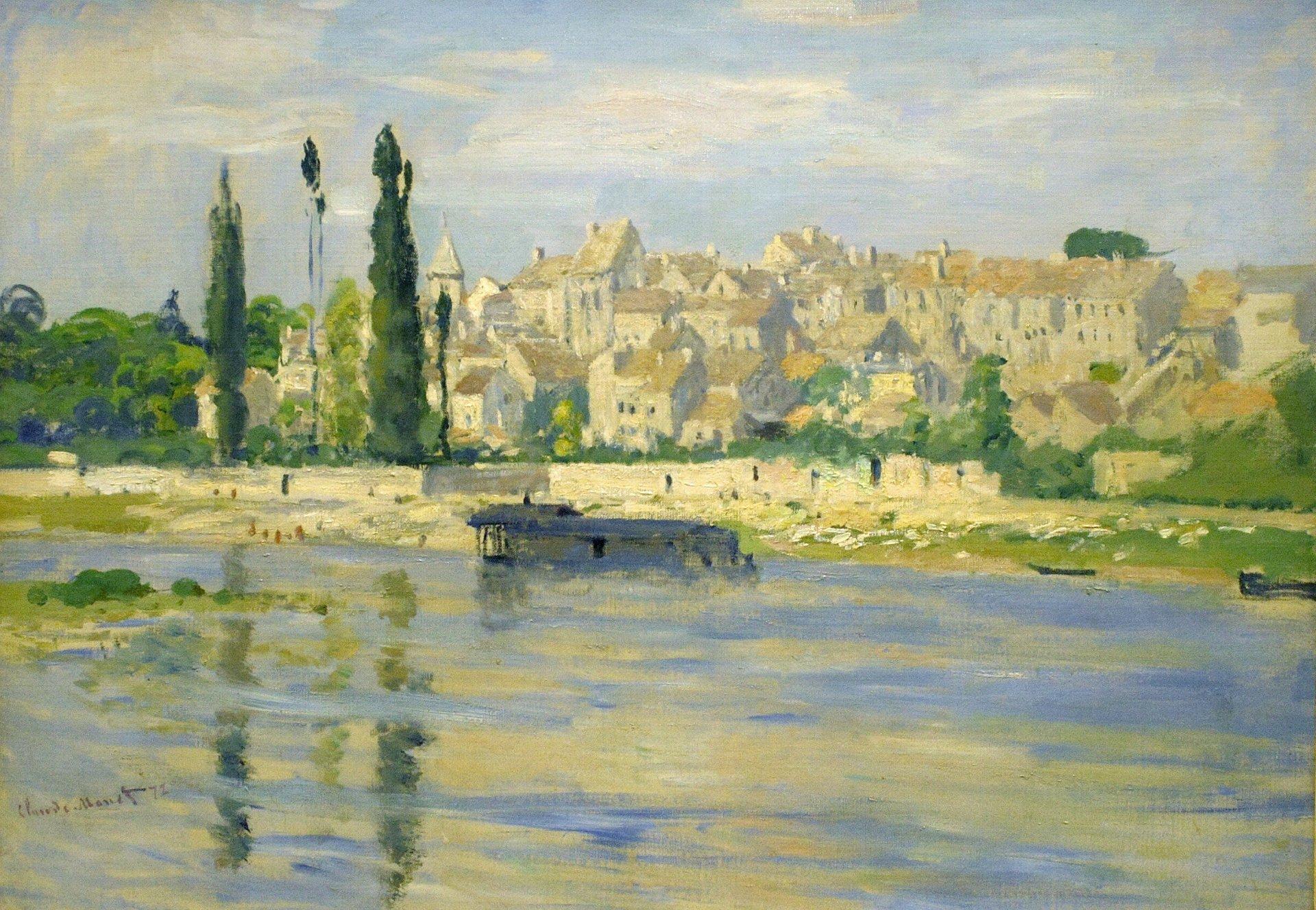 Обои Клод Моне, Пейзаж, картина. Разное foto 11