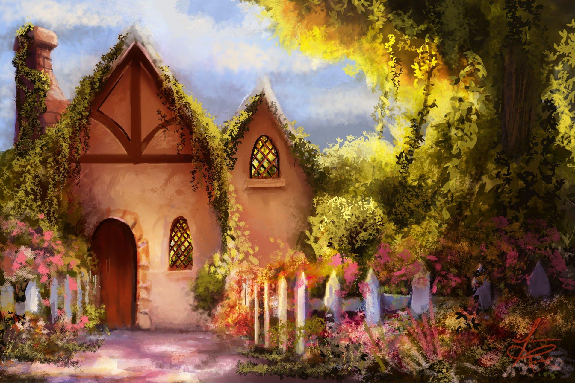 создание сказочные домики картинки хорошего качества если сделан своими