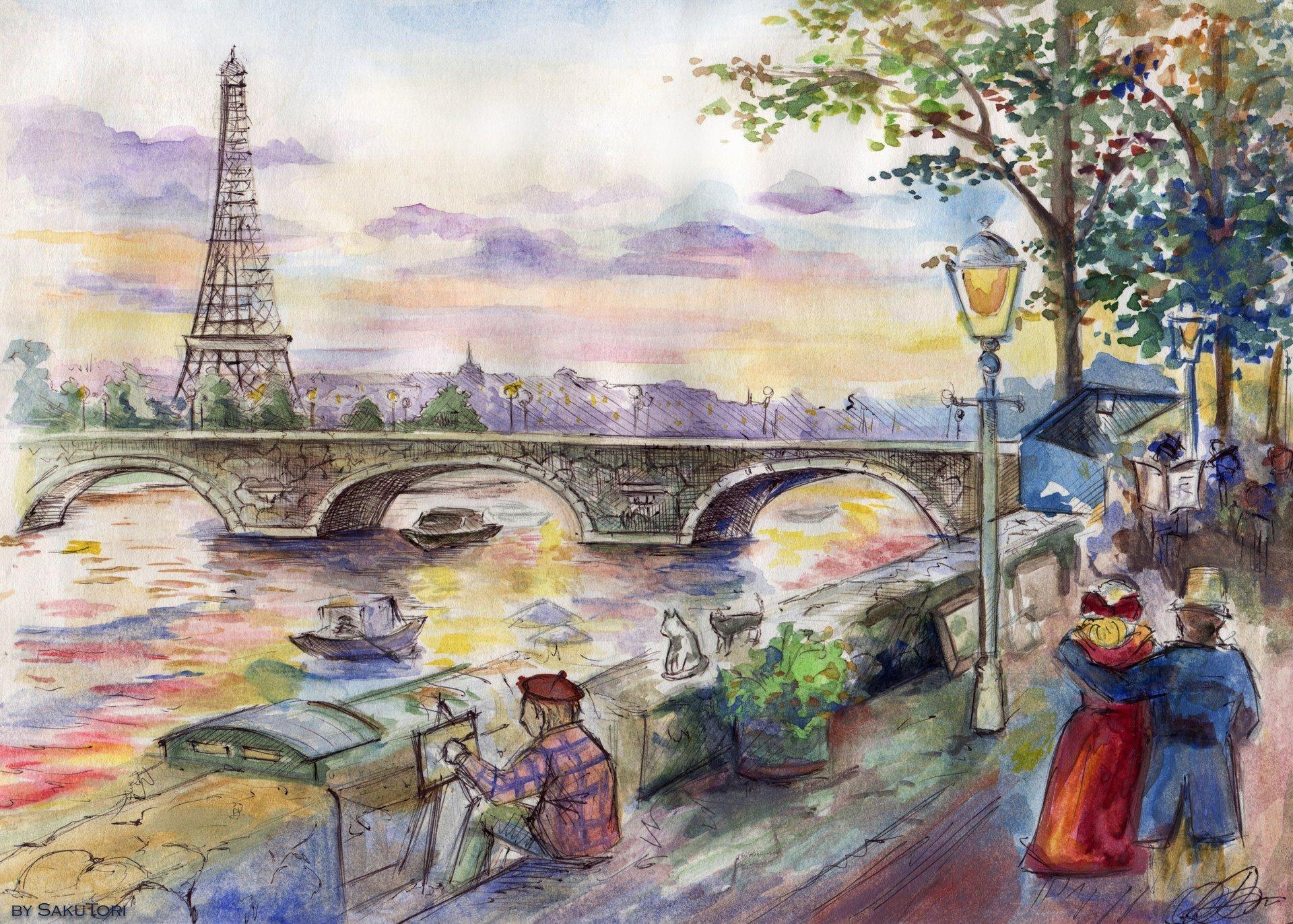 Обои рисунок, живопись. Разное foto 11