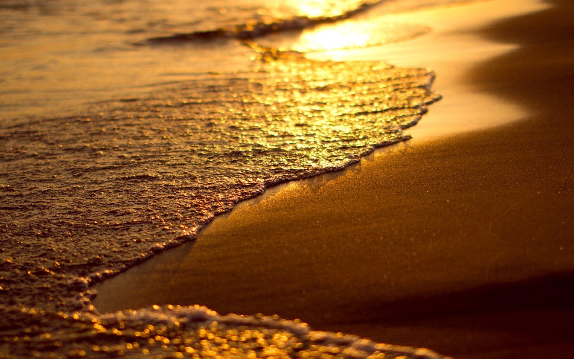 Пляж песок закат без смс