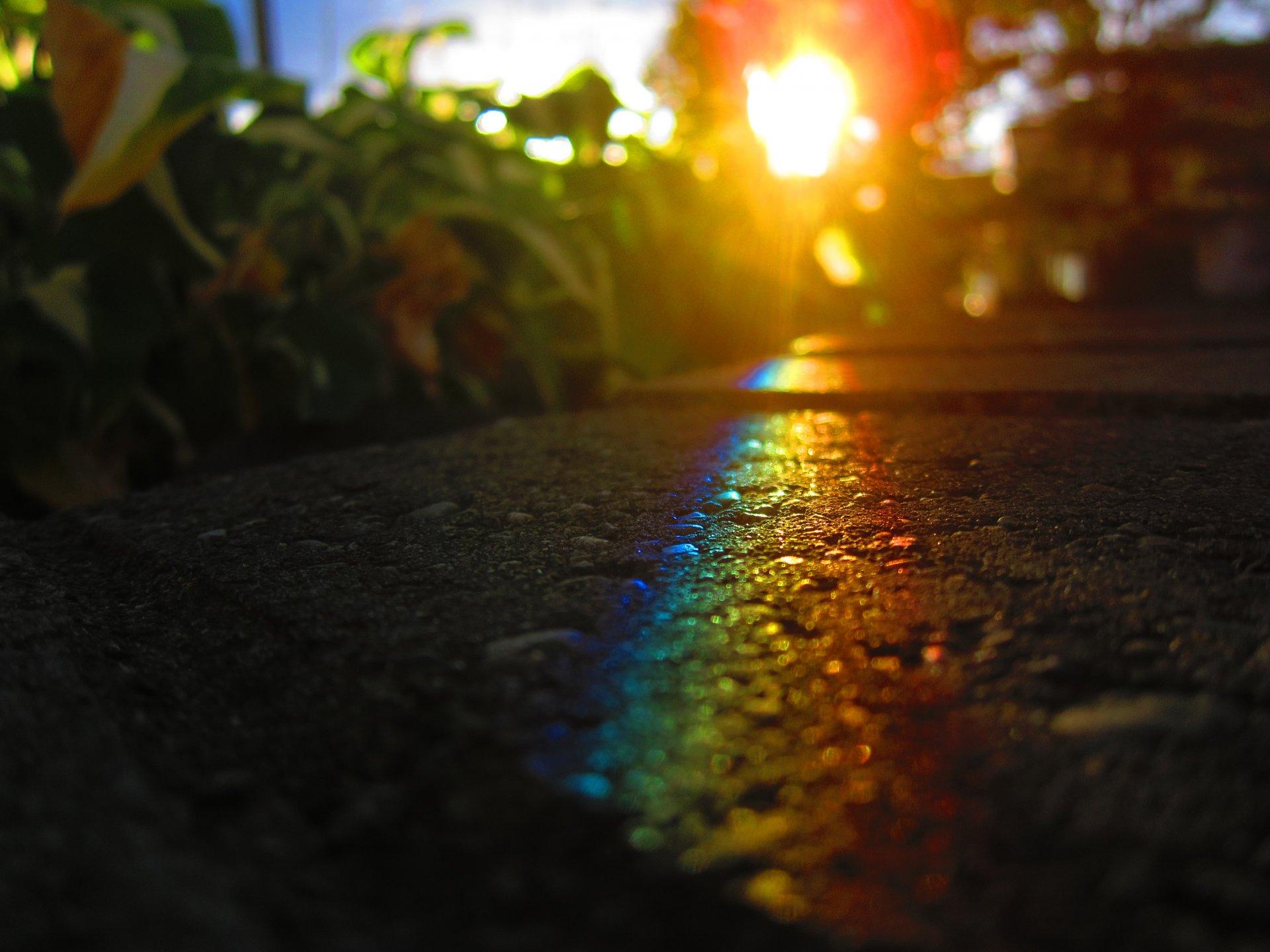 Обои блик, свет, Вода, стекло, Цвет, капли. Разное foto 19