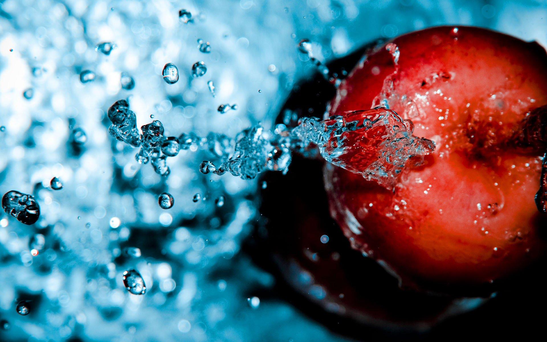 Яблоко макро скачать