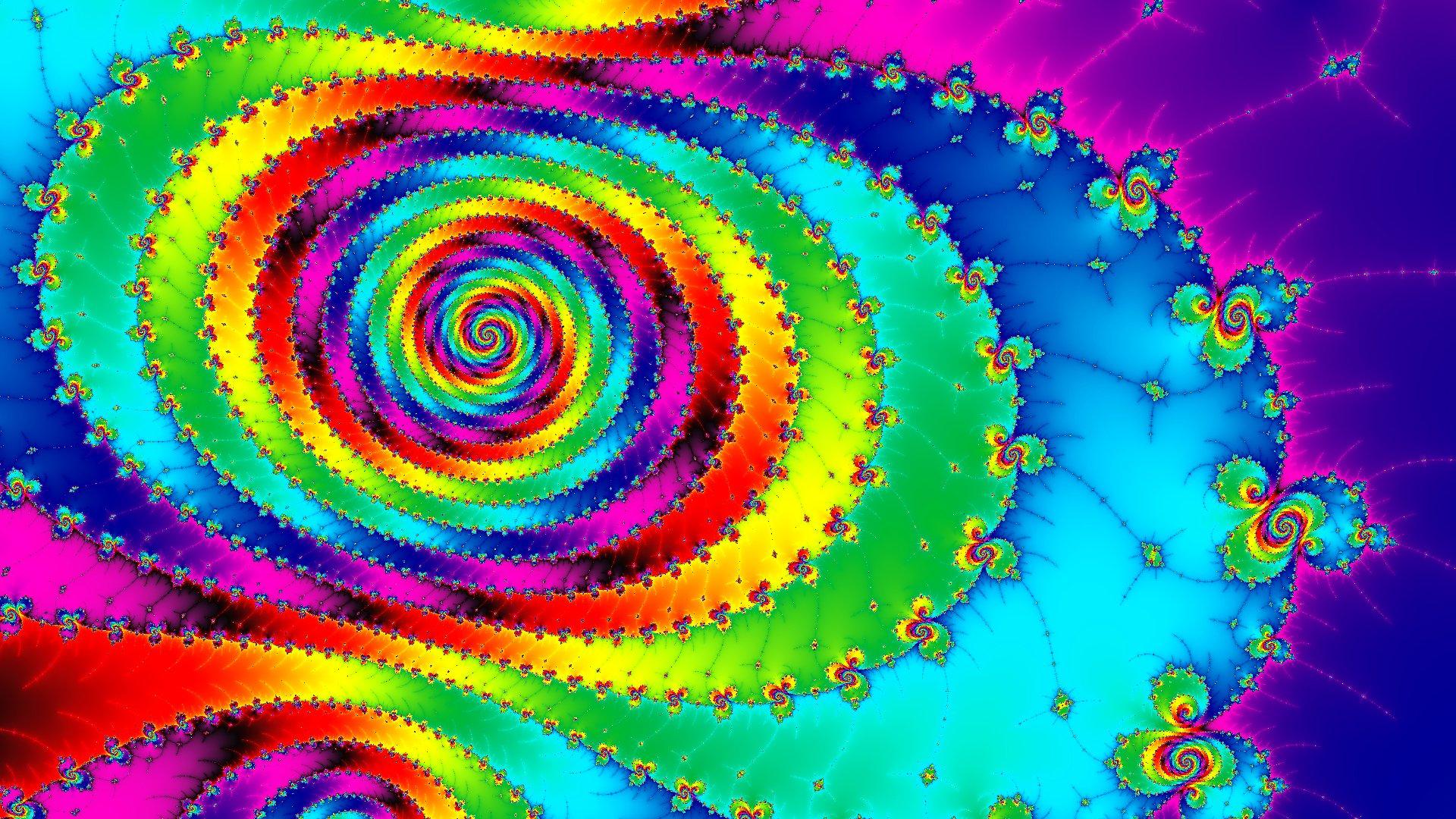Обои свет, спираль, Цвет. Абстракции foto 9