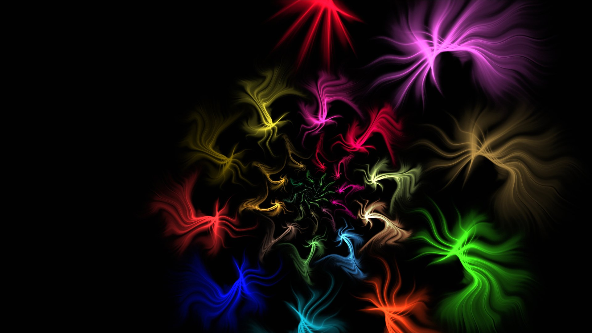 Обои спираль, узор, свет, Цвет. Абстракции foto 14