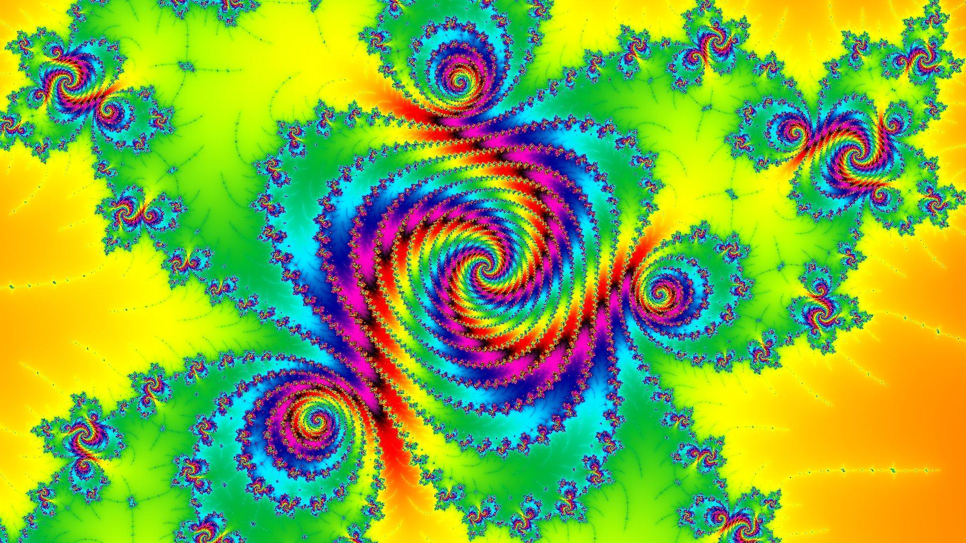 Обои узор, спираль, Цвет, свет. Абстракции foto 10