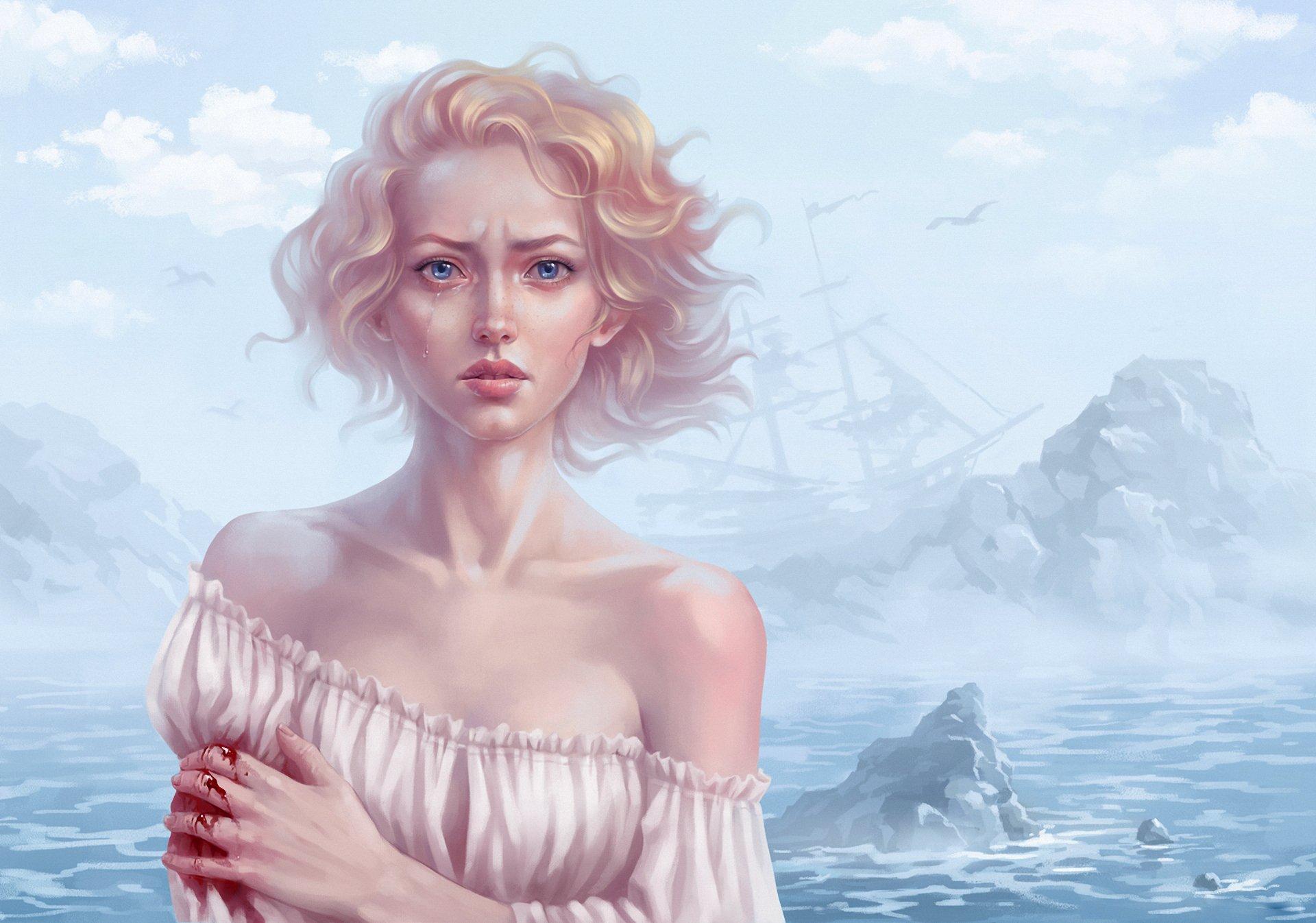 девушка блондинка книга girl blonde book  № 2710616  скачать