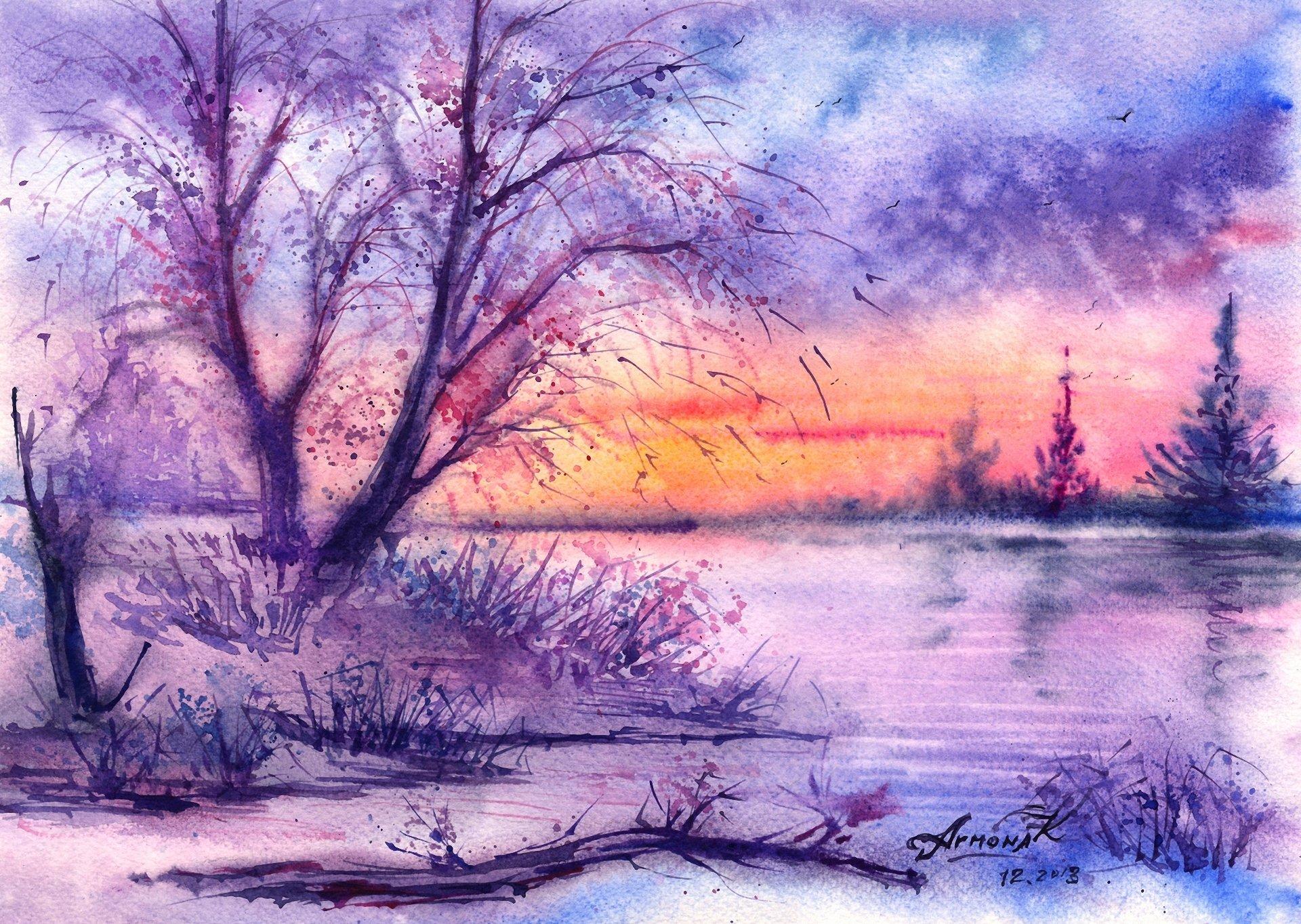 Патриот, картинки зимы для срисовки