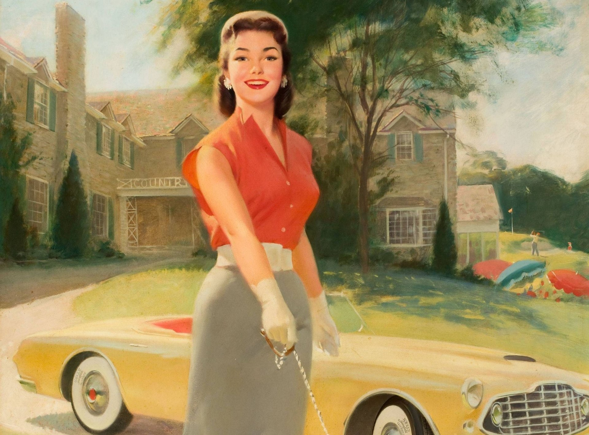 Под юбкой фото девушка и машины 4