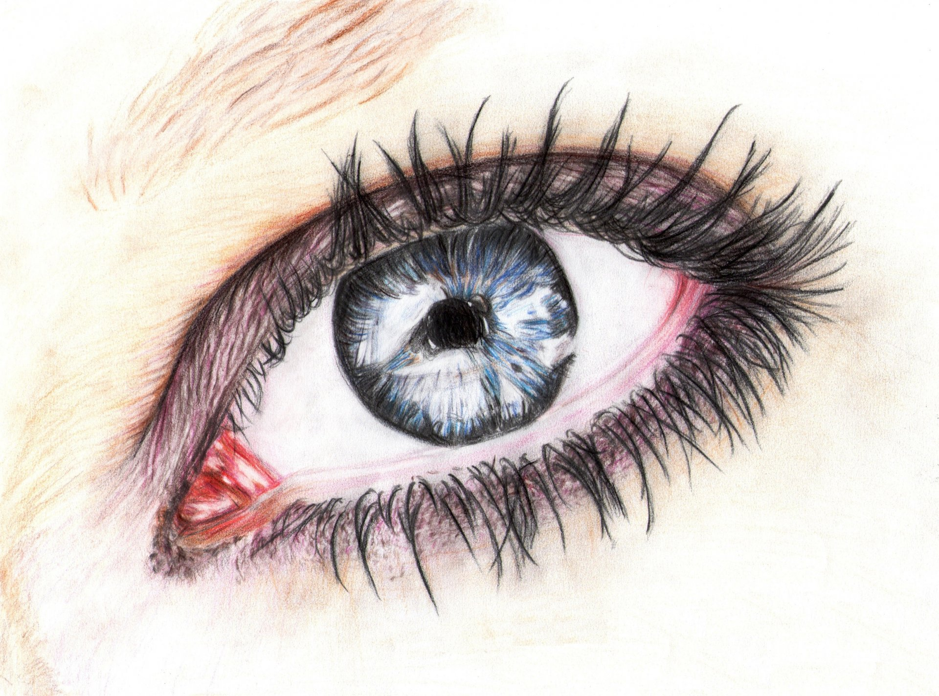 предметы рисуем глаза с картинками дальше