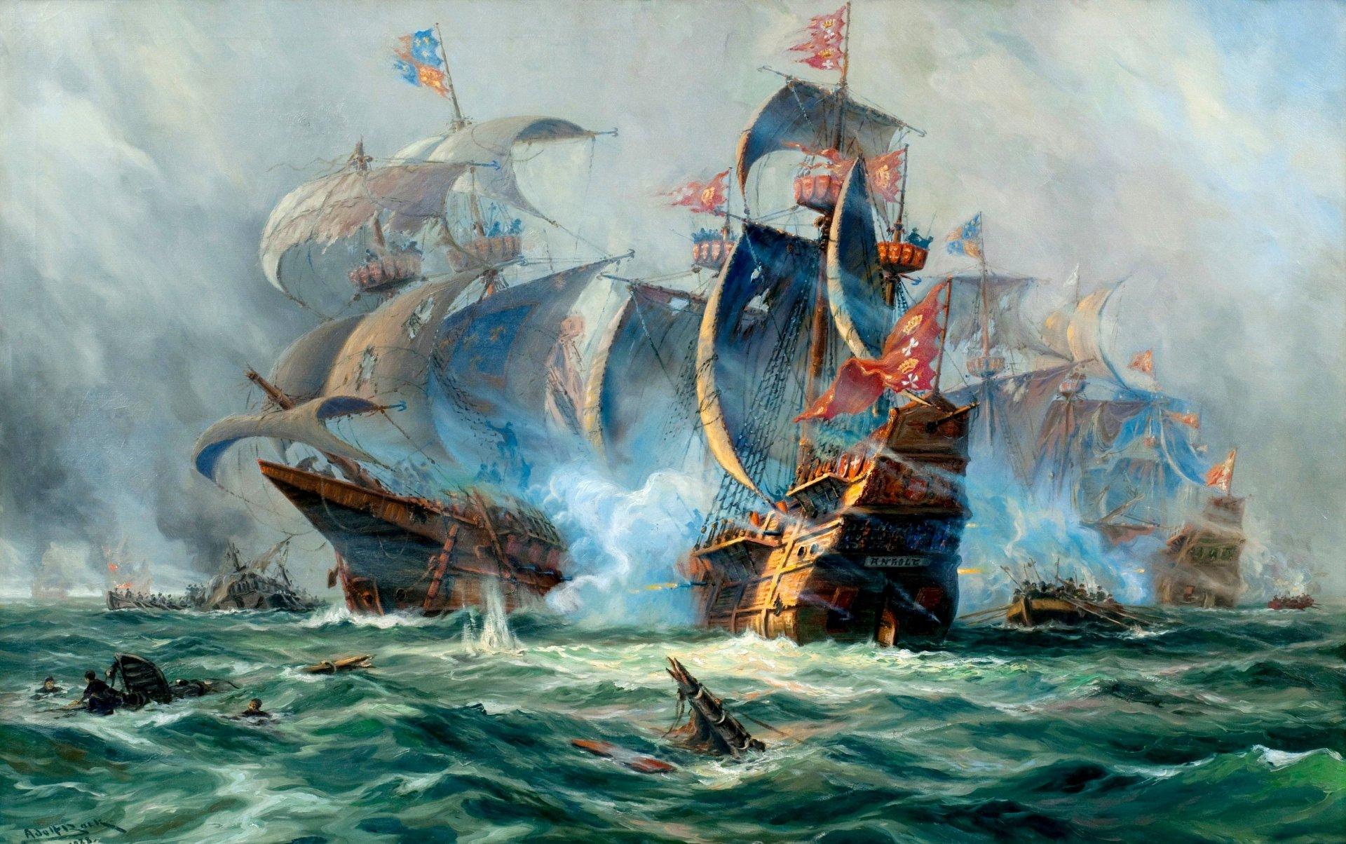оригинальные картинки на морскую тематику с кораблем этом