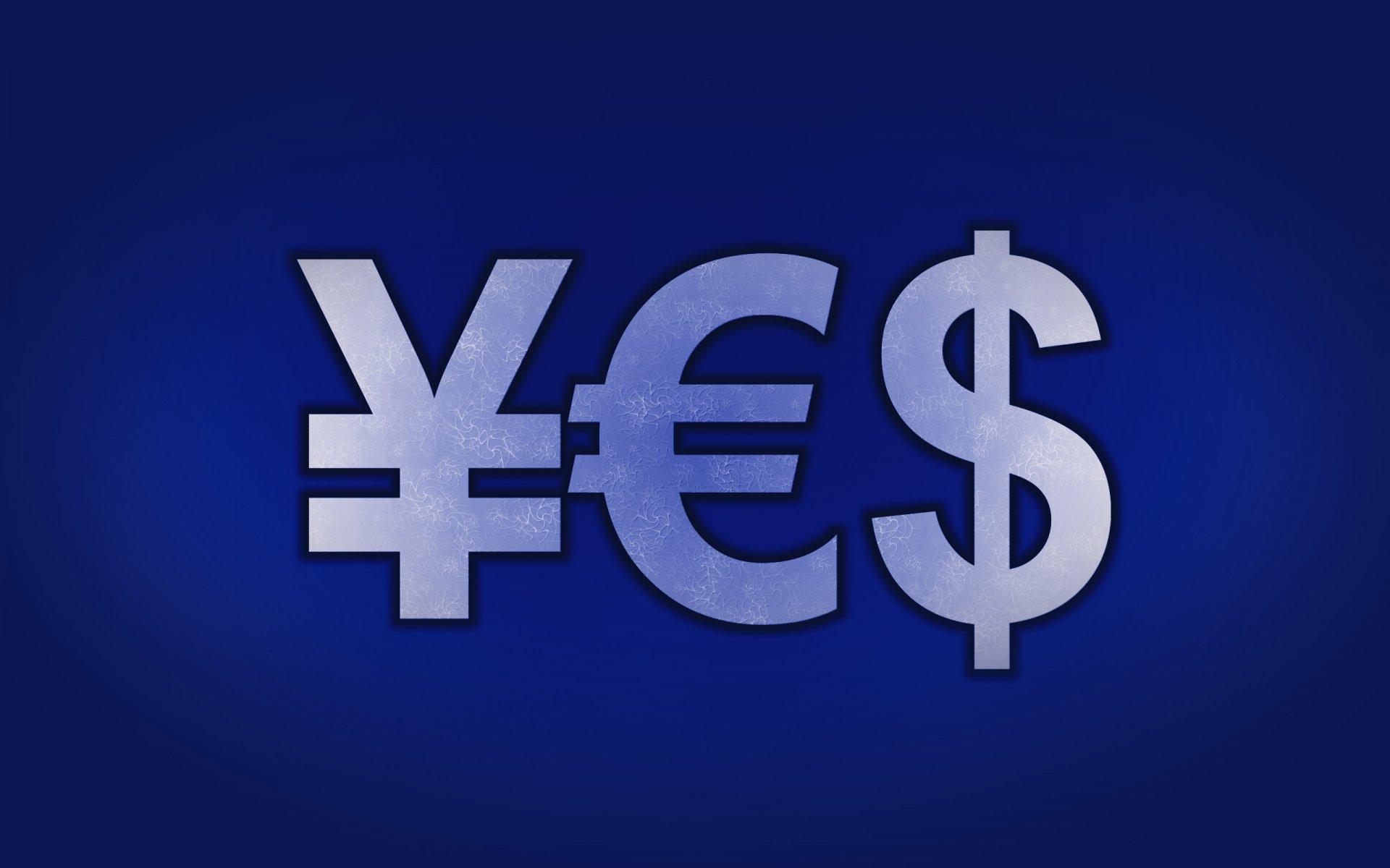 Обои картинки символы с валютой