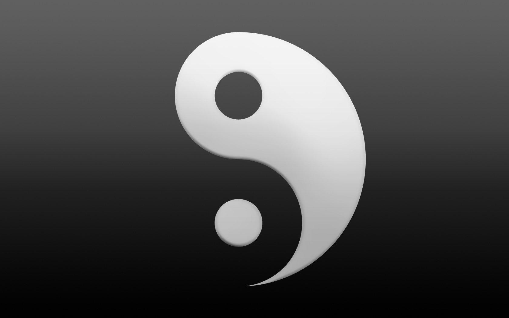 Обои Гармония, инь-янь, символ. Разное foto 9