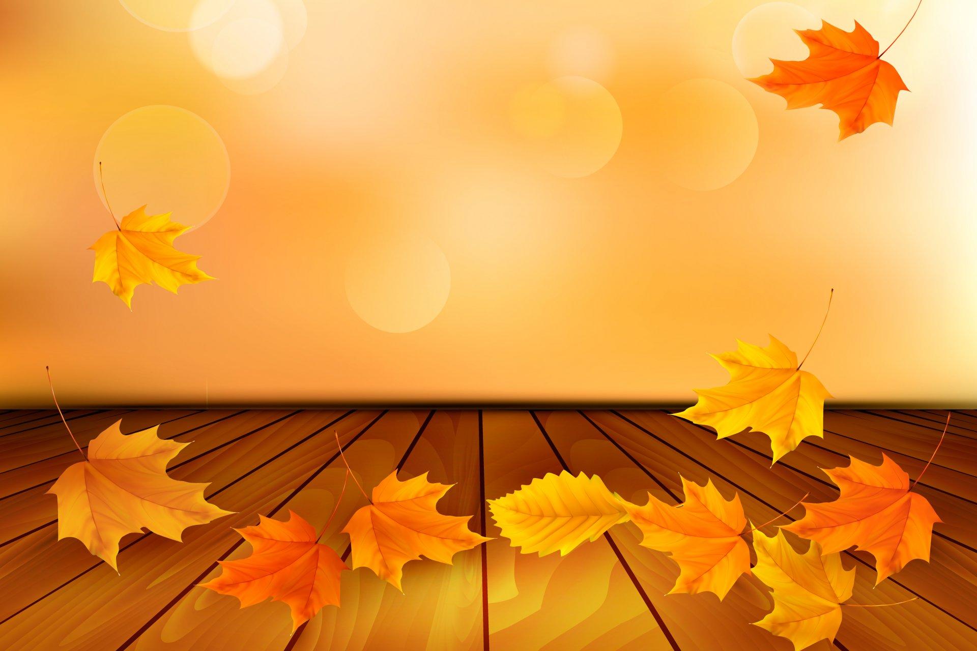 Картинки про осень для презентации, днем рождения картинках
