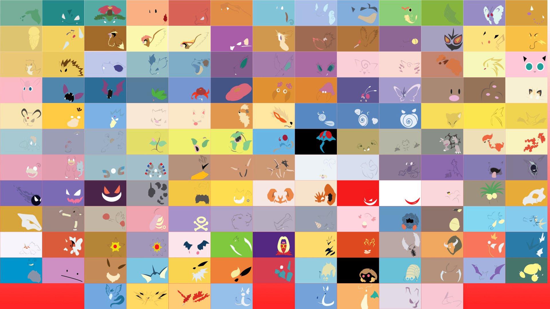картинки на рабочий стол на весь экран покемоны