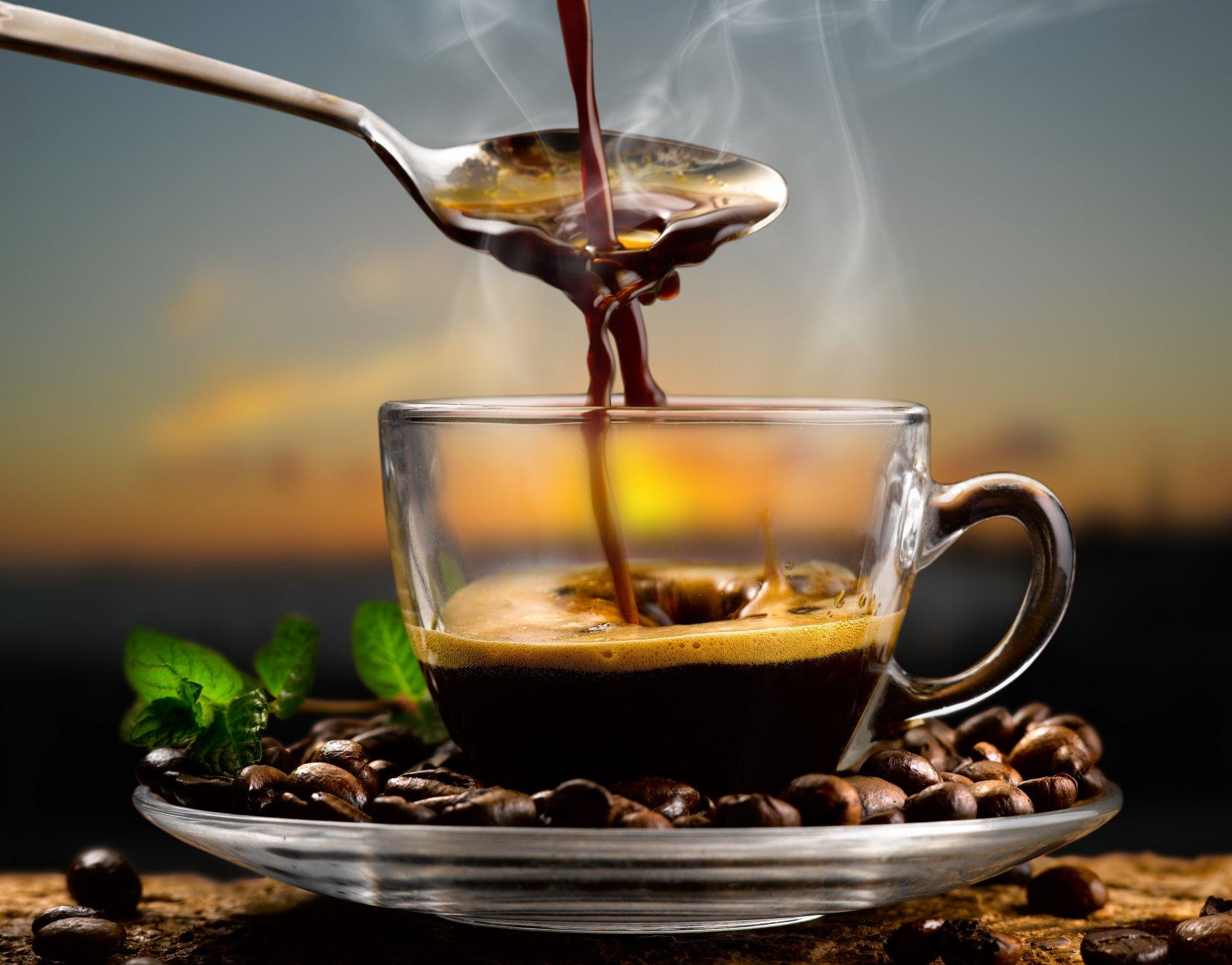 Обои кофе, зерна, стол, ложка. Разное foto 10