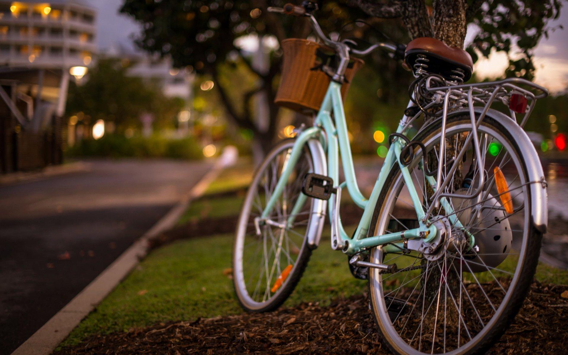 Обои стоянка, велосипед. Разное foto 11