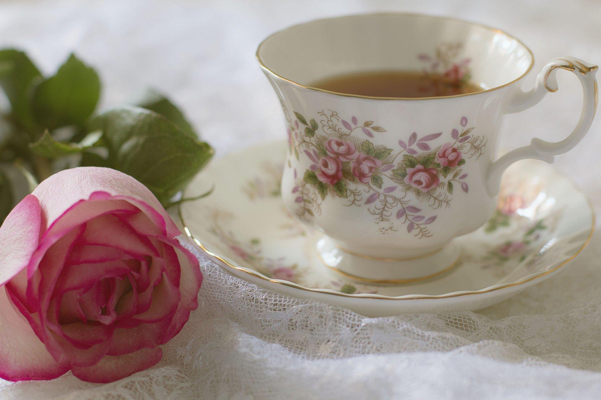 Обои цветы, чай, натюрморт. Разное foto 10