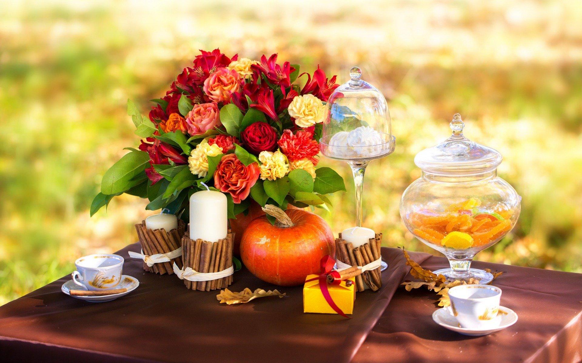 Осенний день рождения на даче