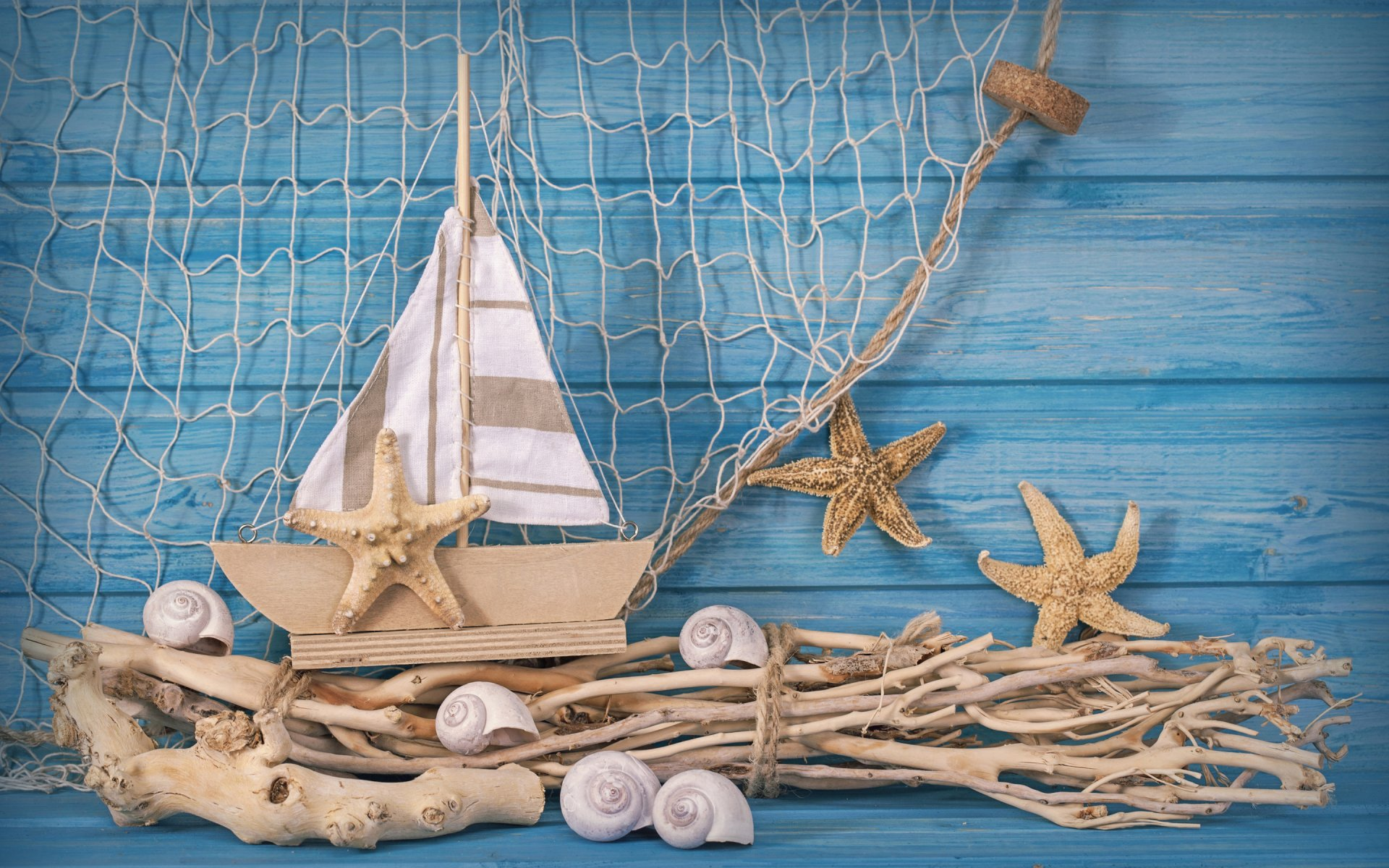 Поделки на морскую тему для интерьера