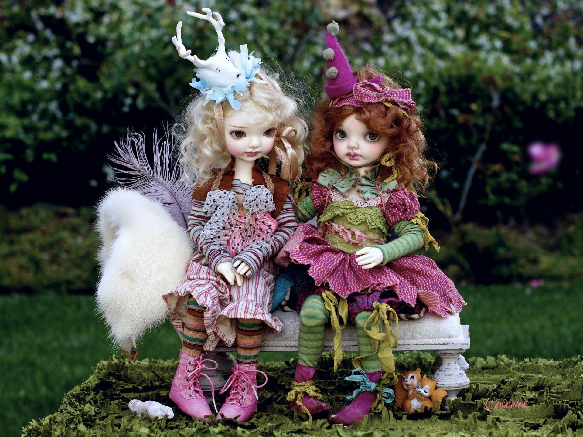 Красивые открытки с куклой