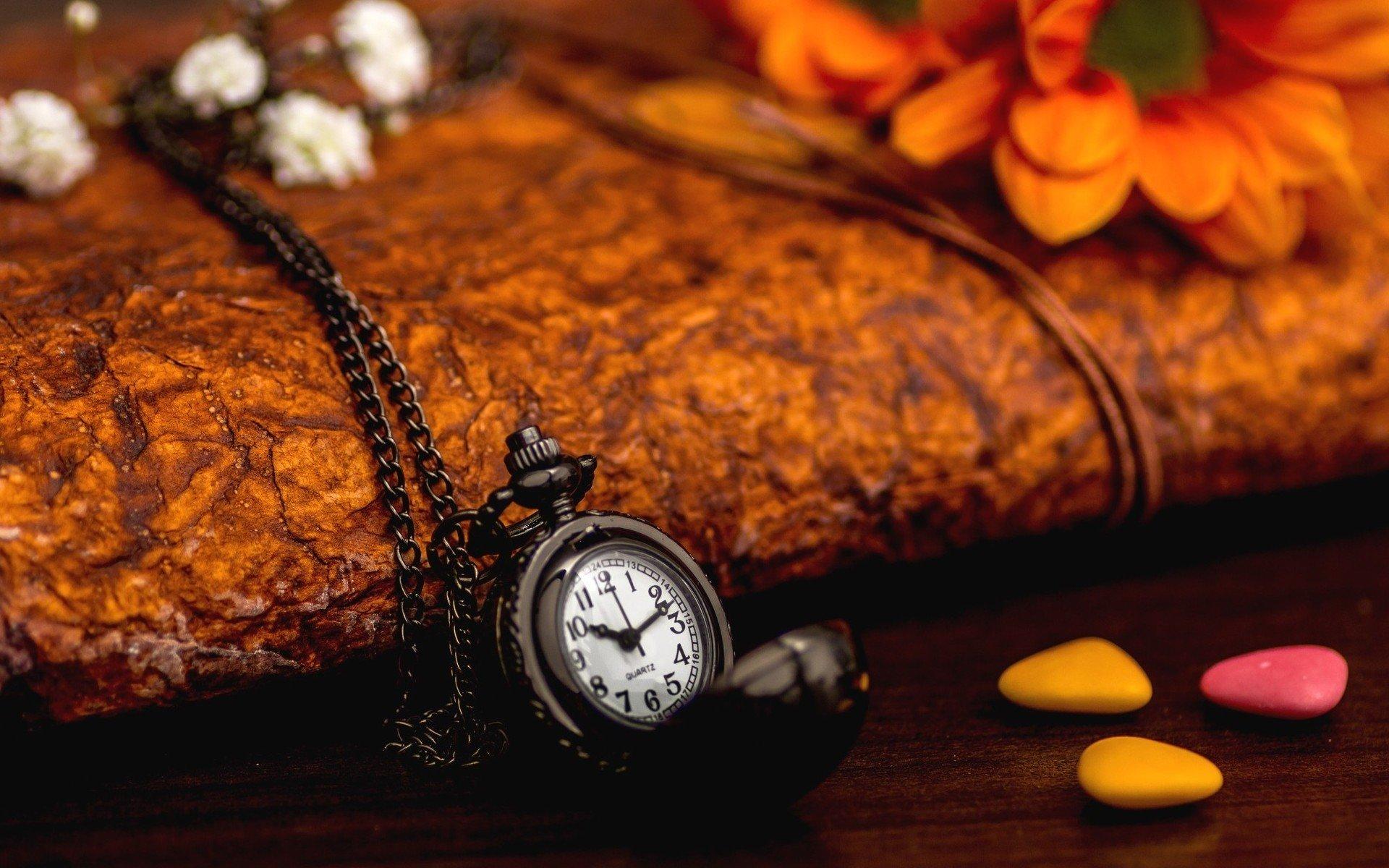 природа цветы часы  № 1520705 без смс