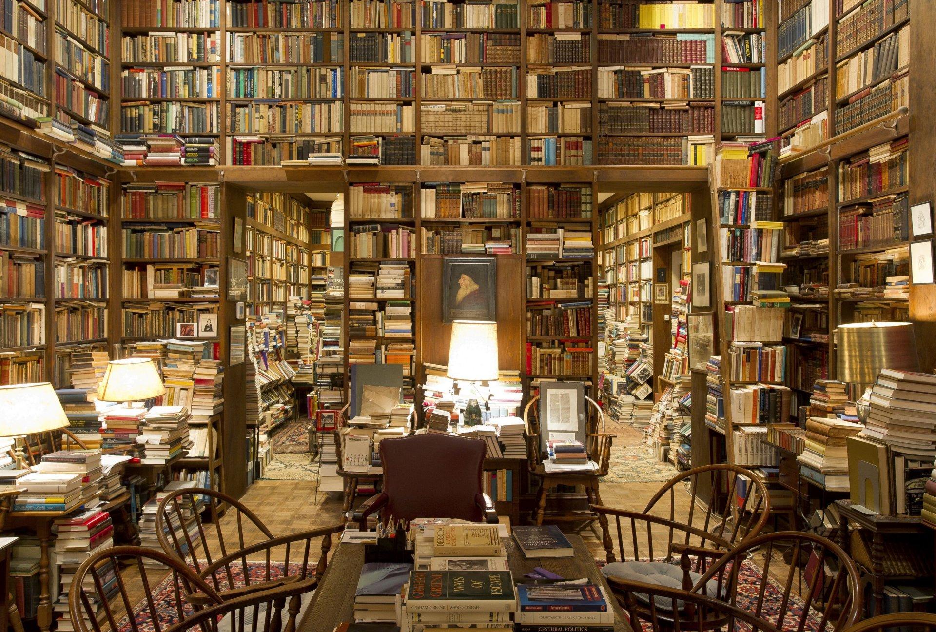 Обои библиотека, книги. Разное foto 8