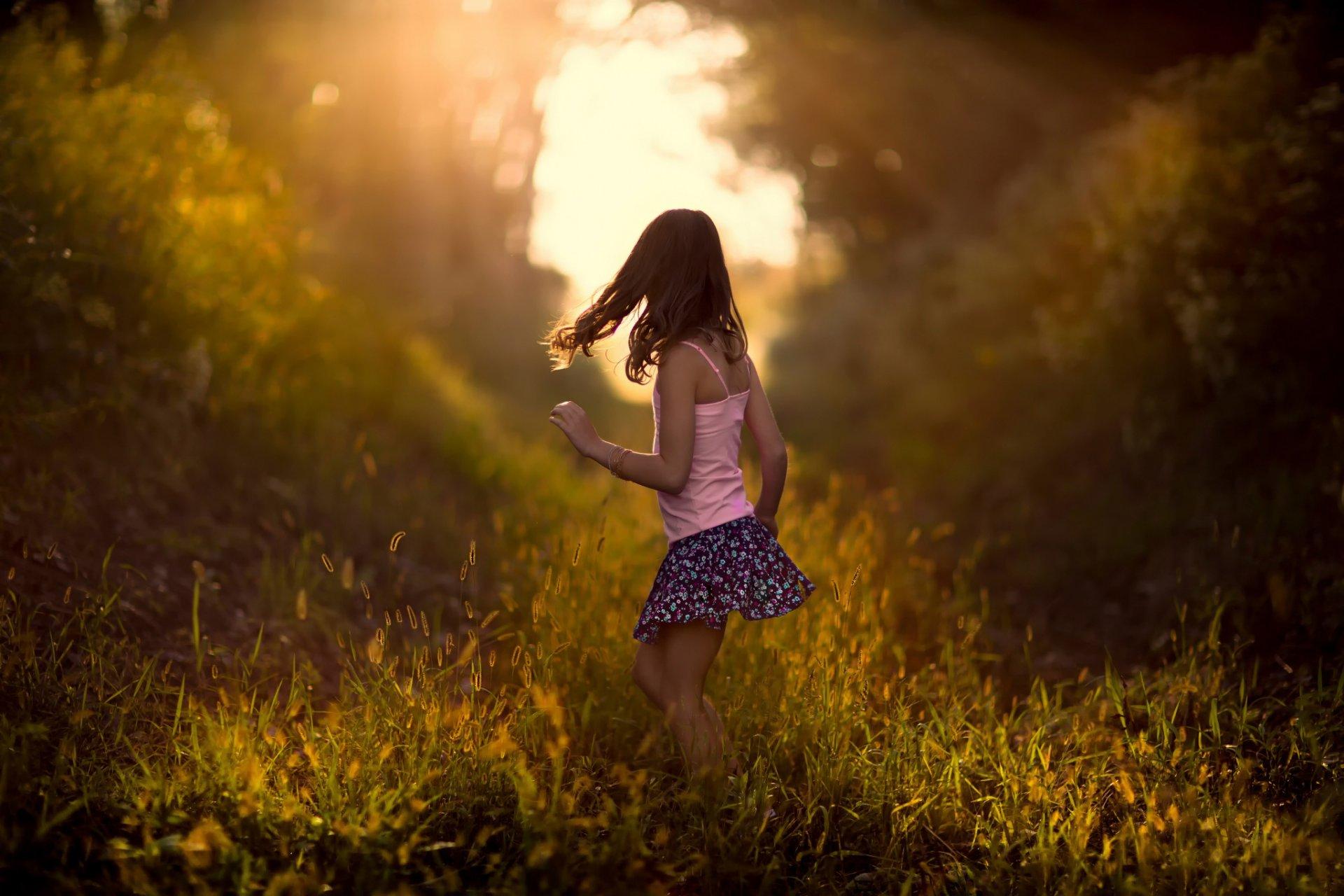 Красивые картинки с людьми со спины на природе