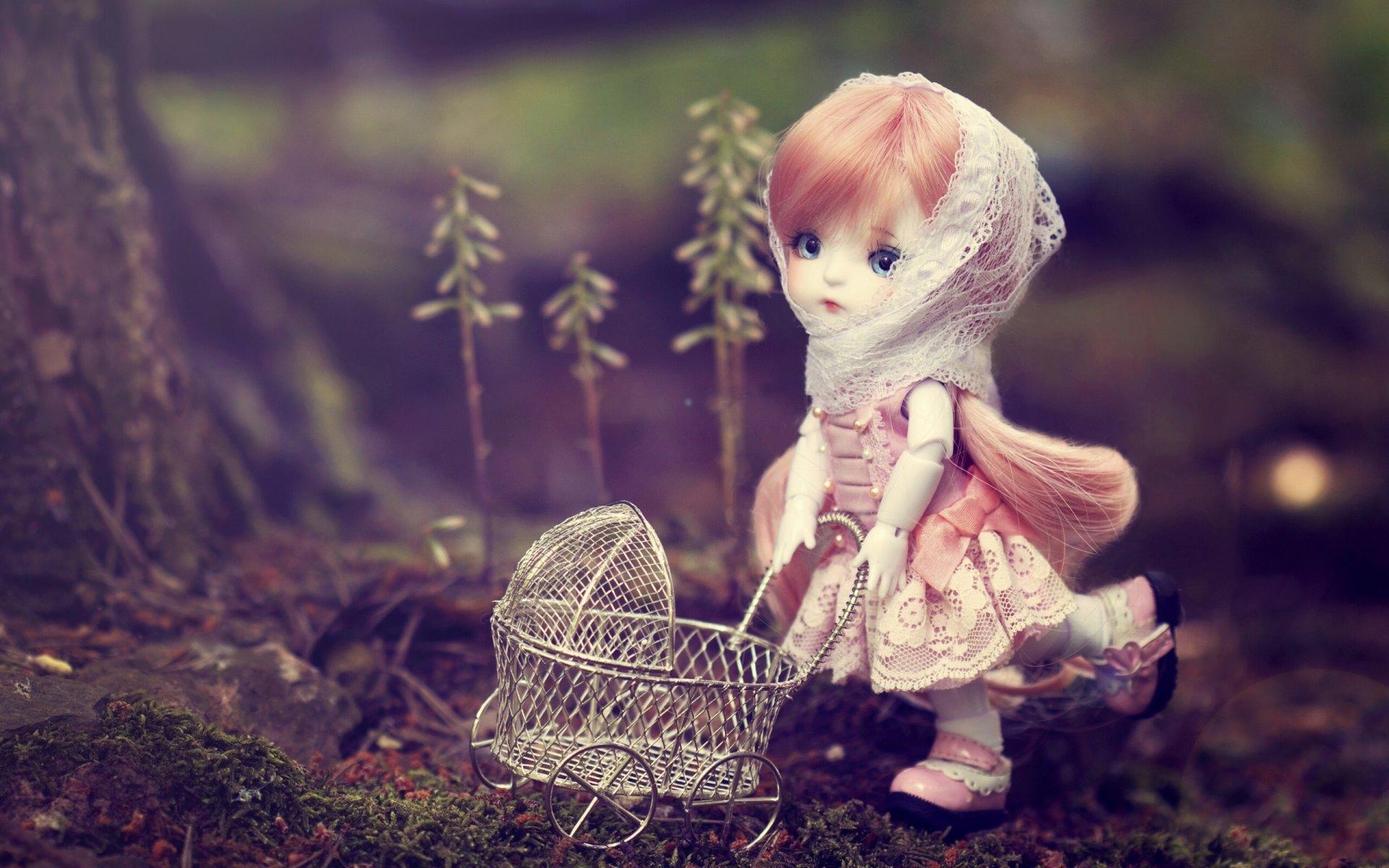 Одноклассники, картинка с куколкой