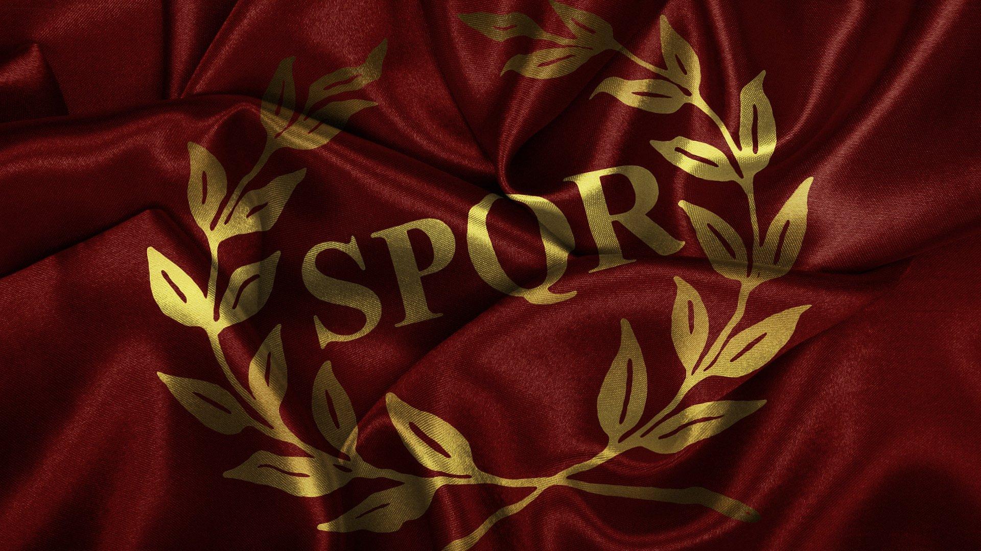 флаг древнего рима картинки представлены