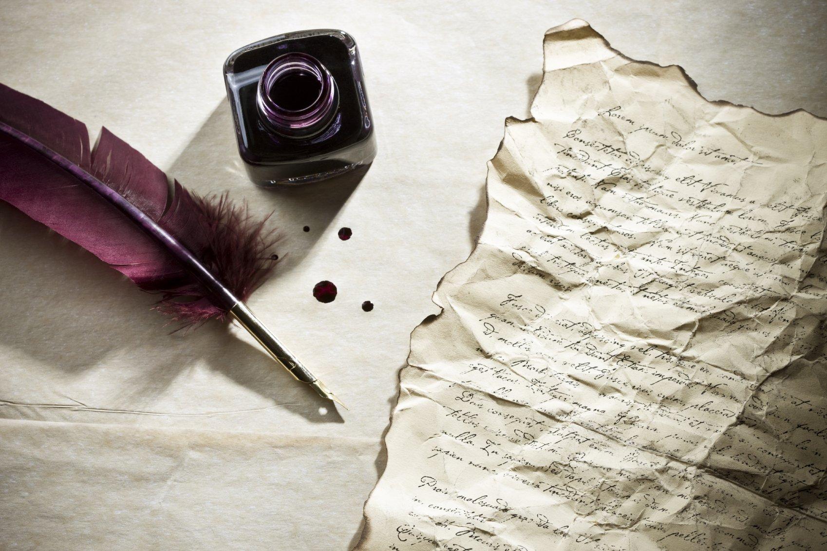 Удаление чернильных надписей на бумаге