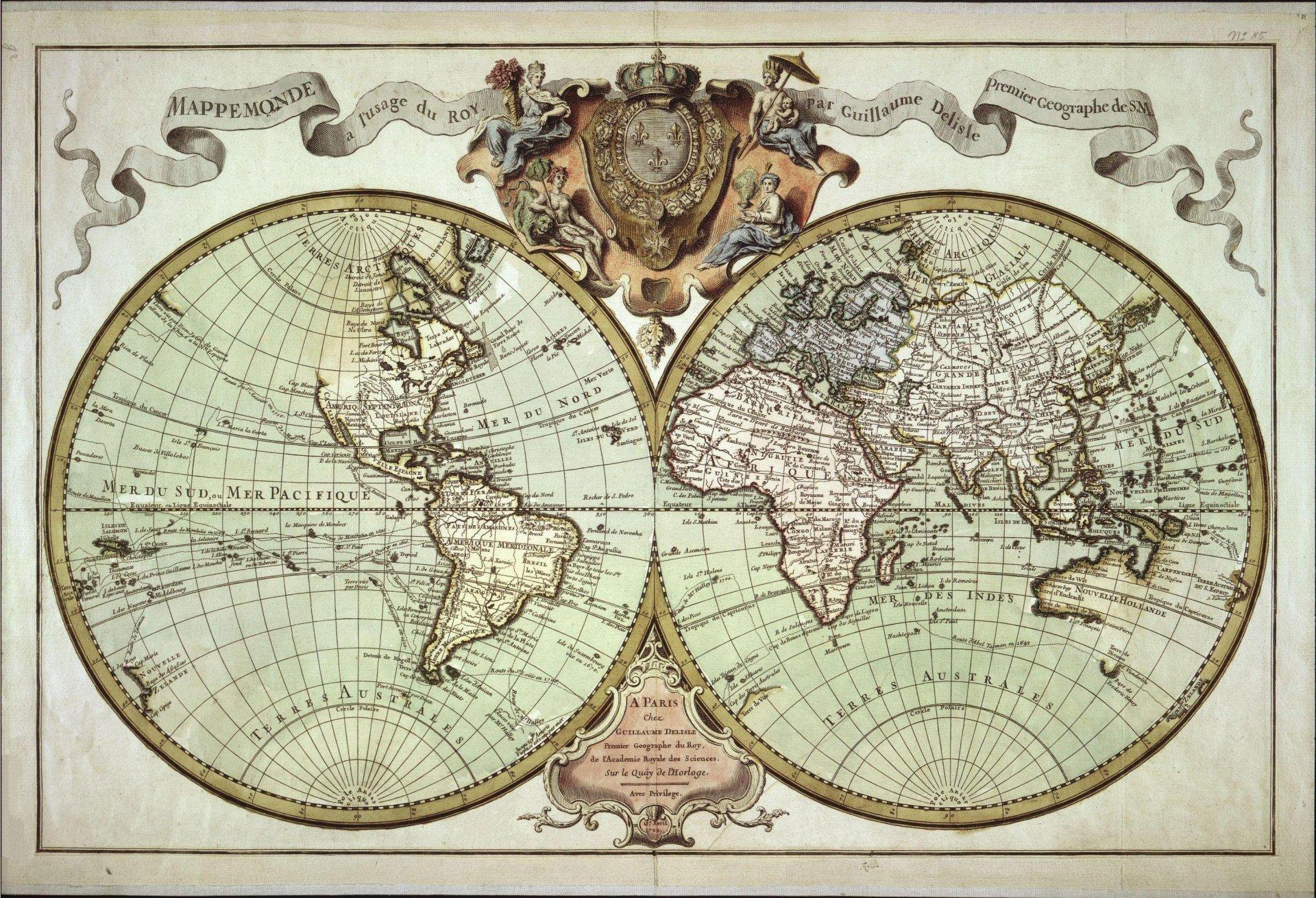 Картинки мировые карты