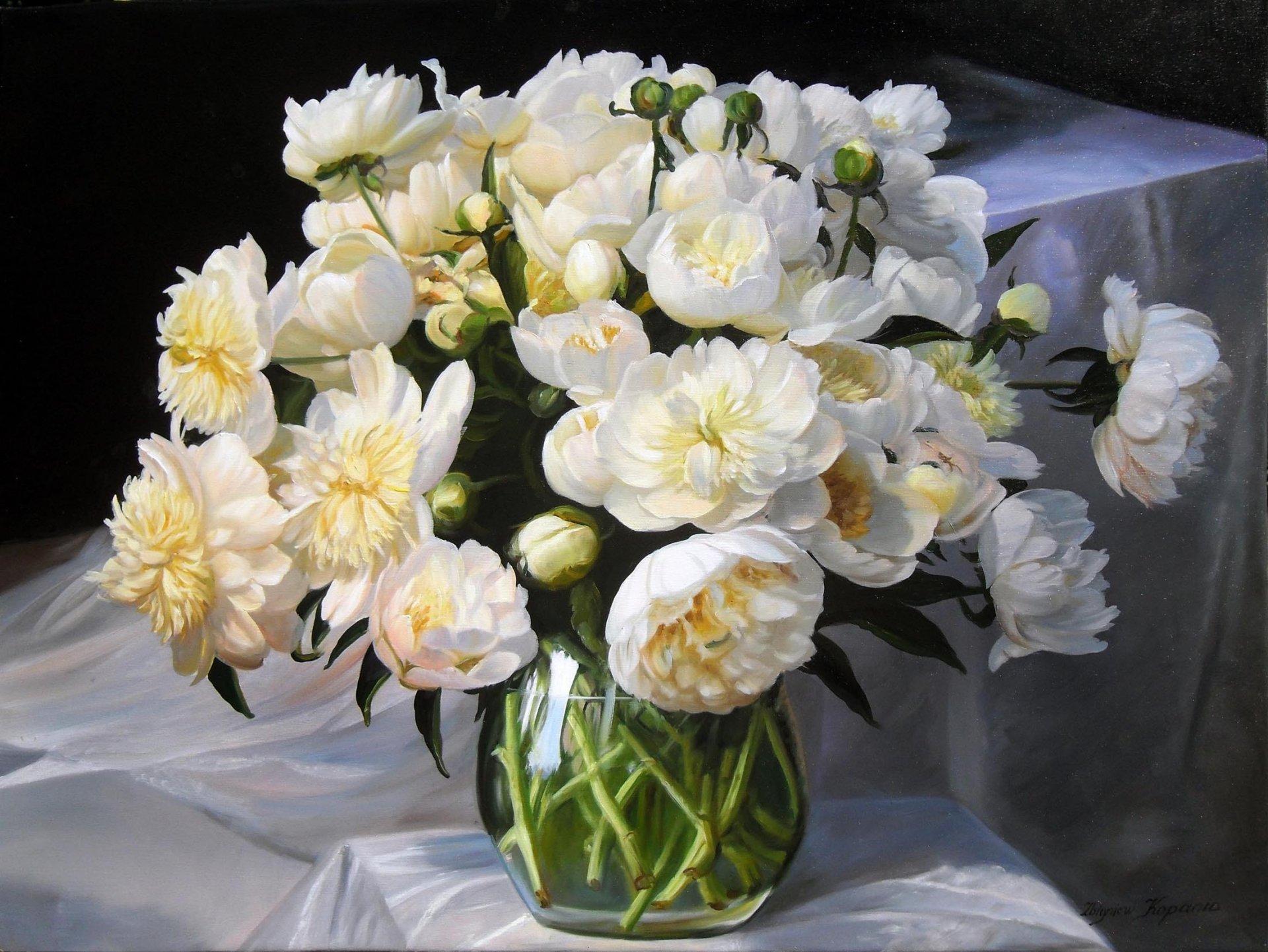 обои на телефон цветы в вазе