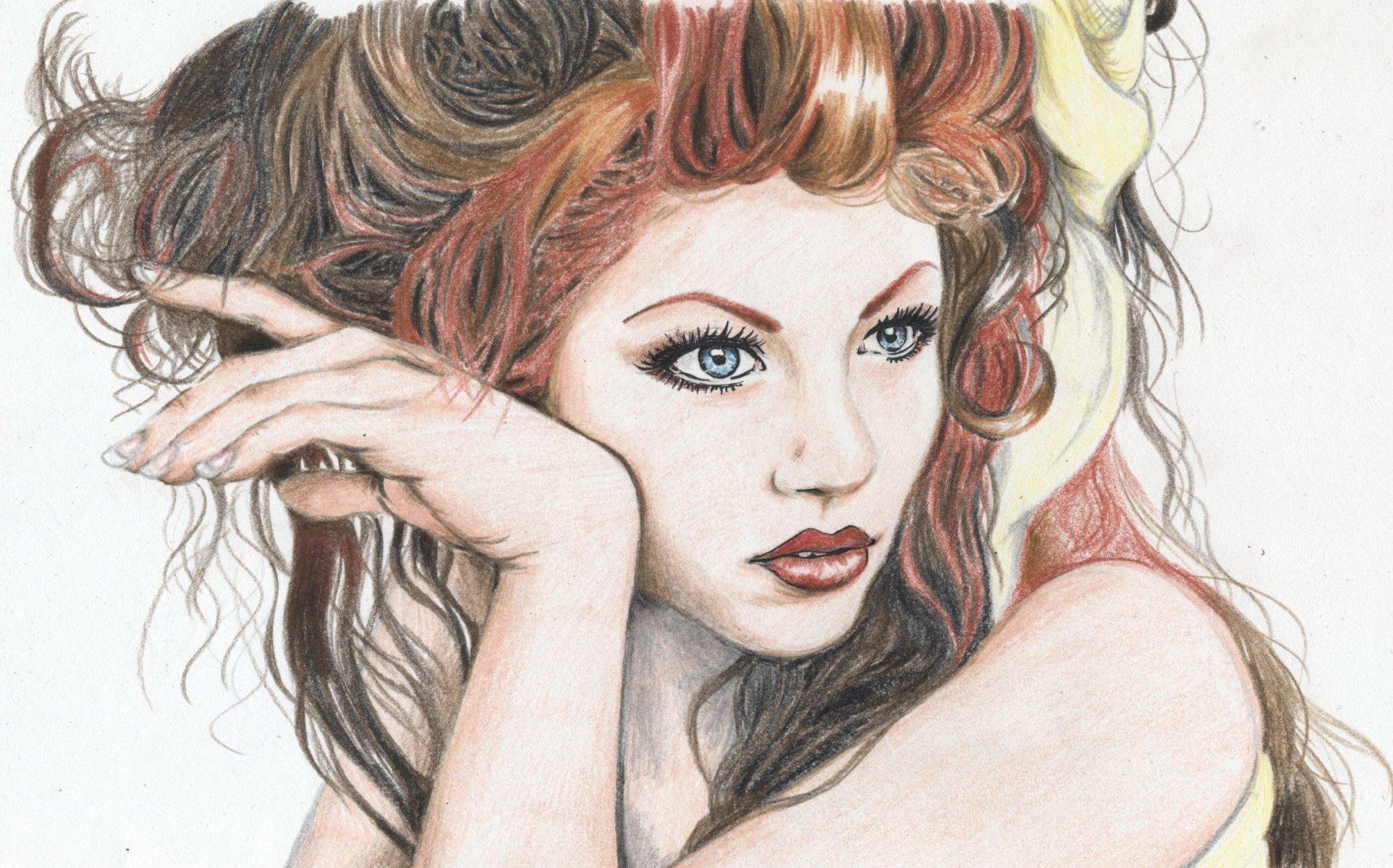 Нарисованные картинки арт