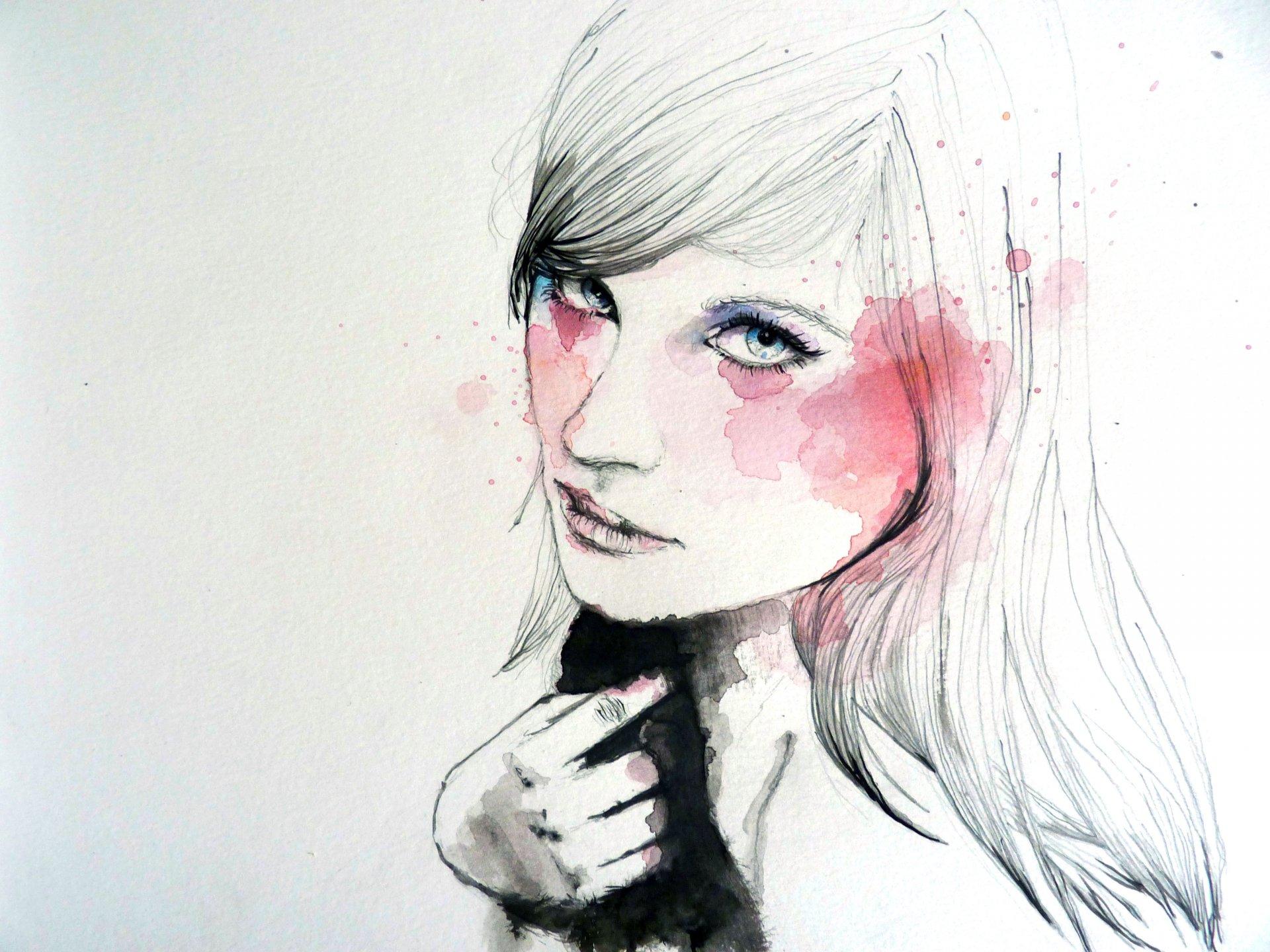 Лицо девушки своими руками Искусство-Жизнь. Творческий клуб