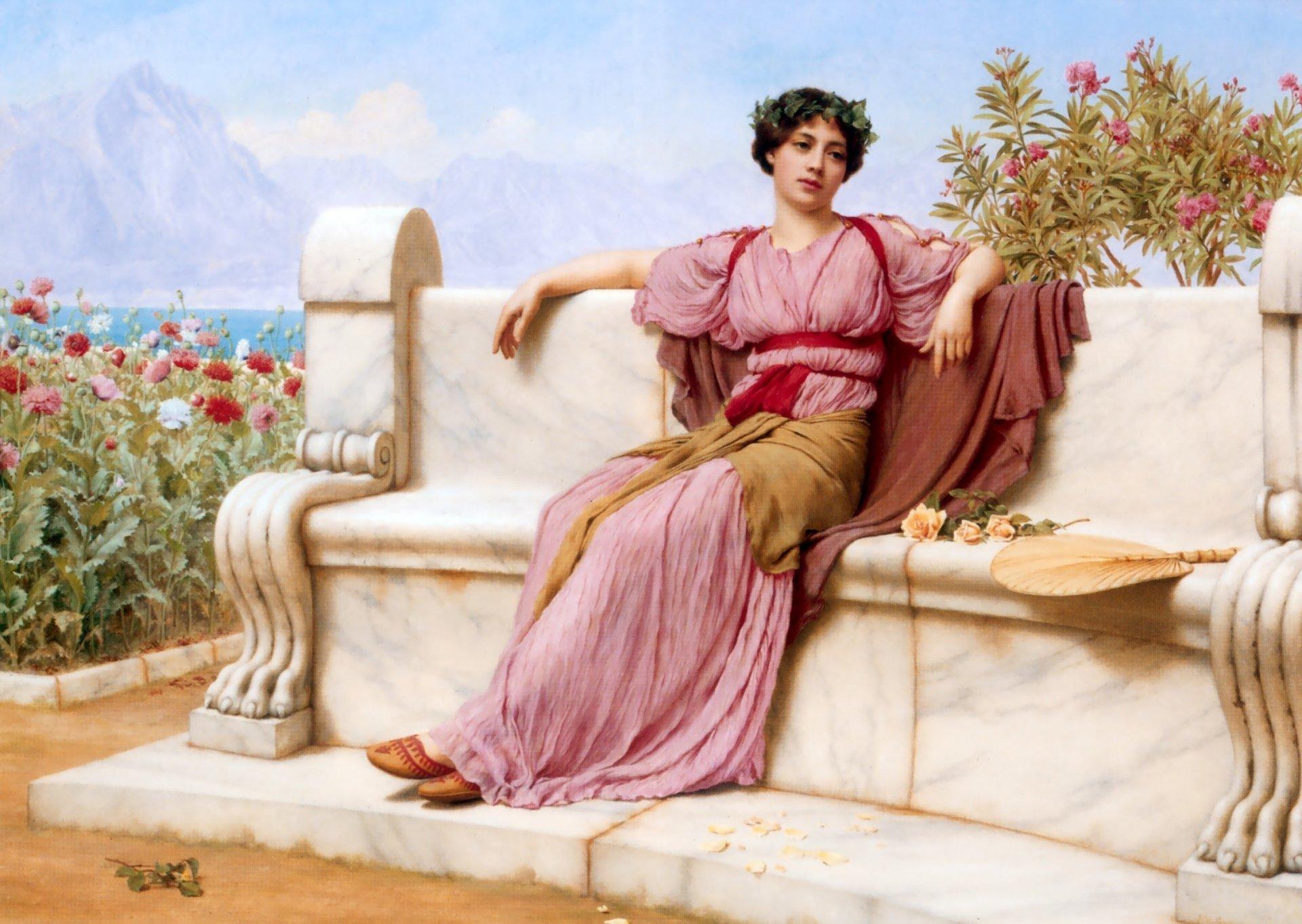 обои на тему древней греции человек будет
