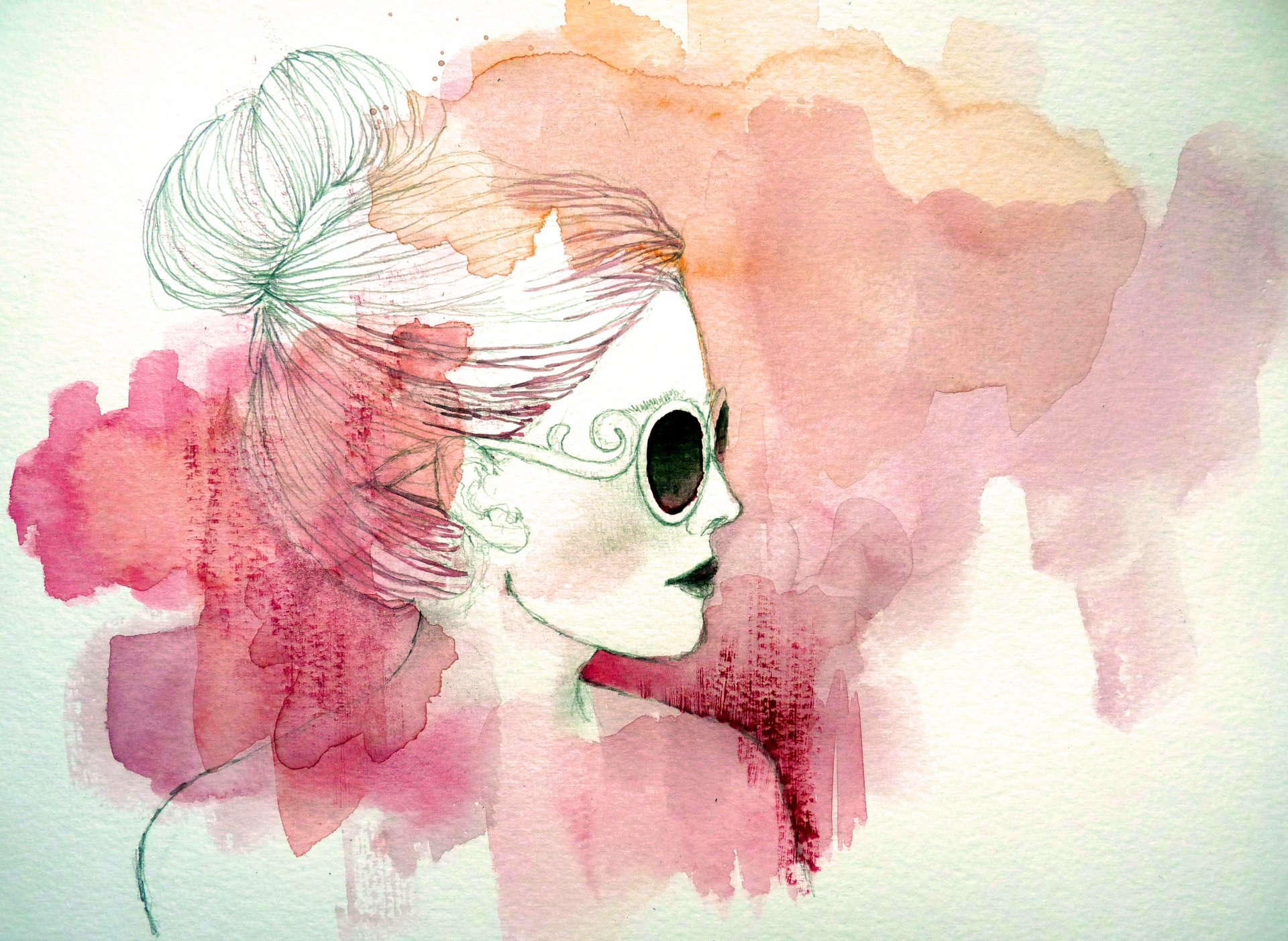 Картинки акварелью простые для начинающих срисовка, формат картинка днем
