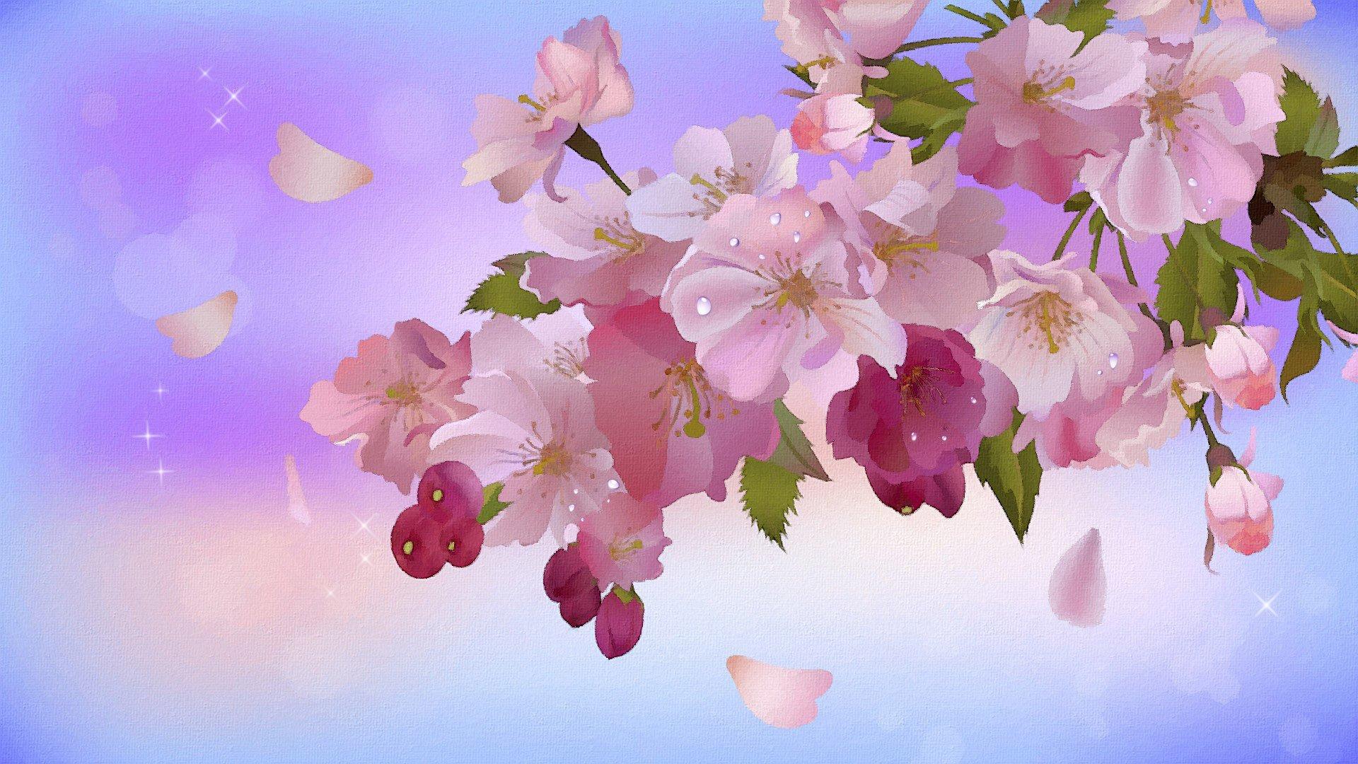 люда мечтала цвет яблони обои на рабочий стол овоща обладают нежной