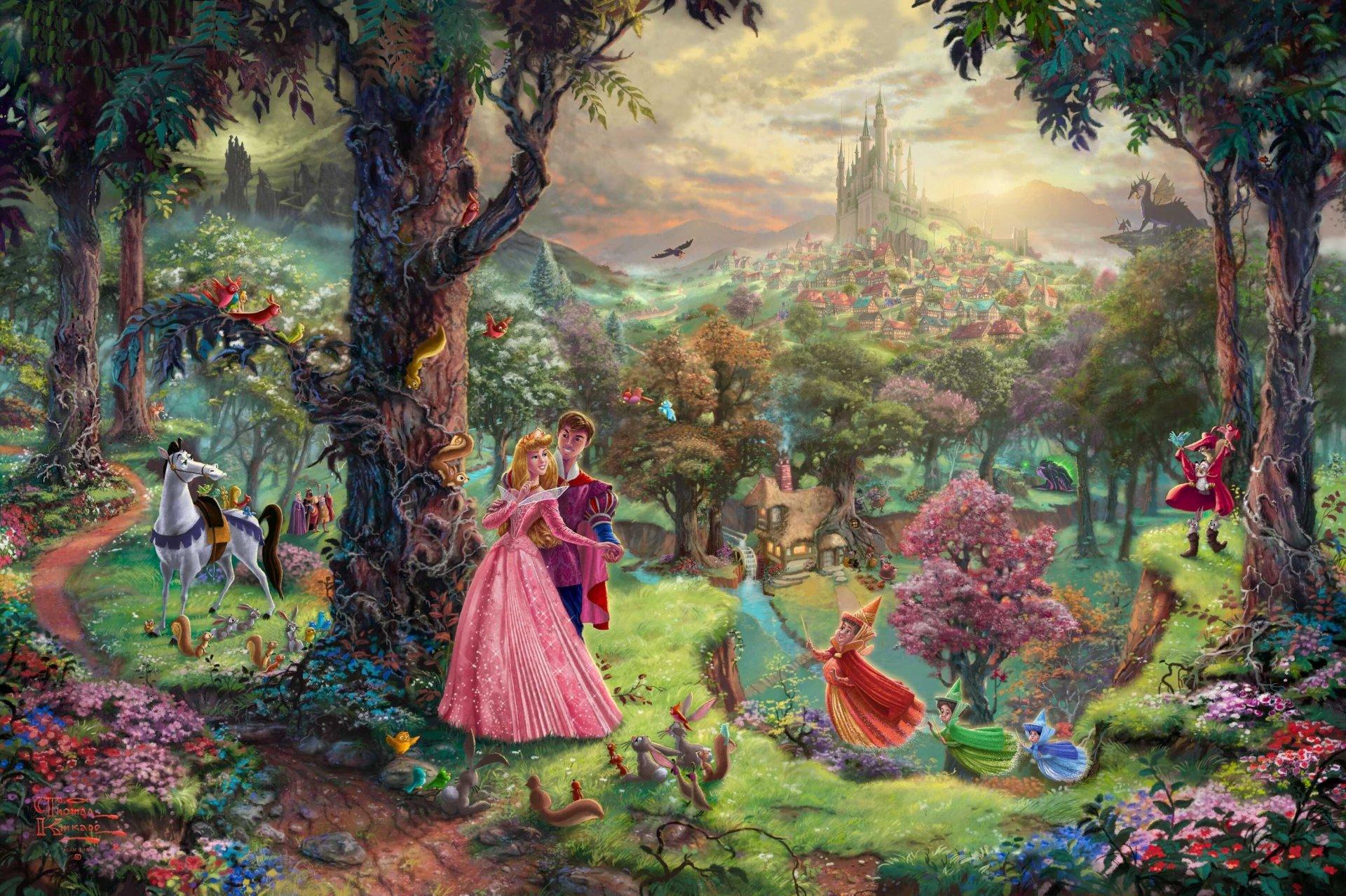 Фея во дворце картинка