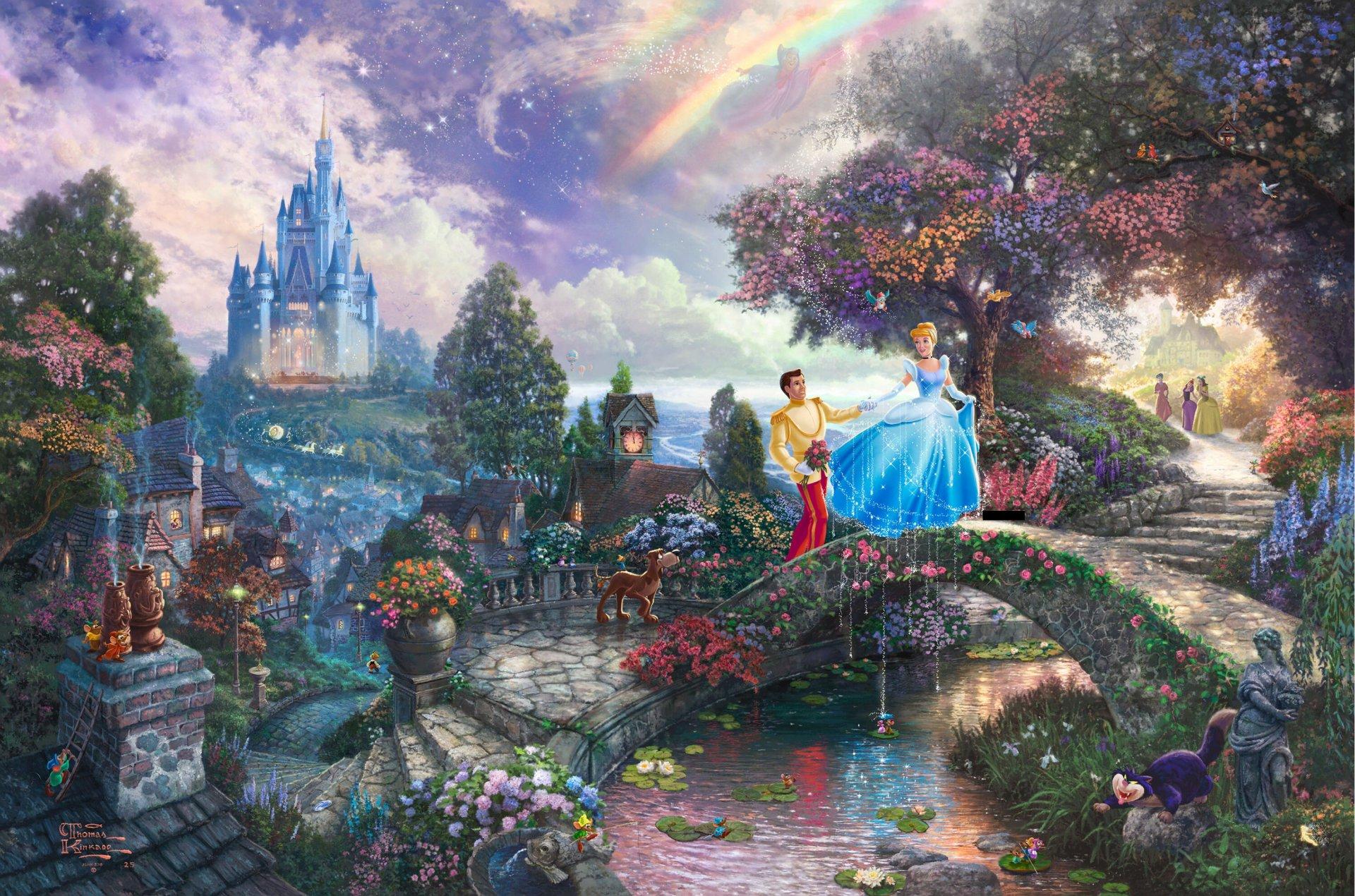 волшебные сказочные картинки на рабочий стол