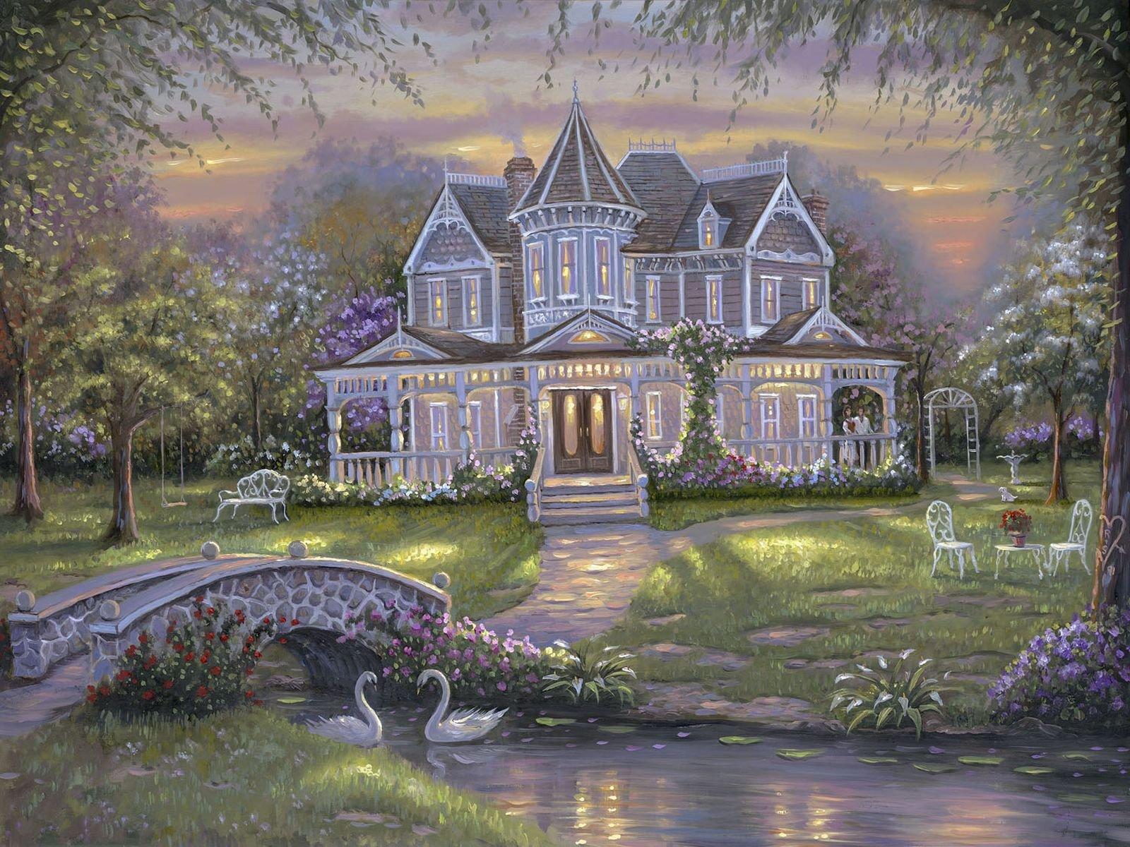 Дом лебеди