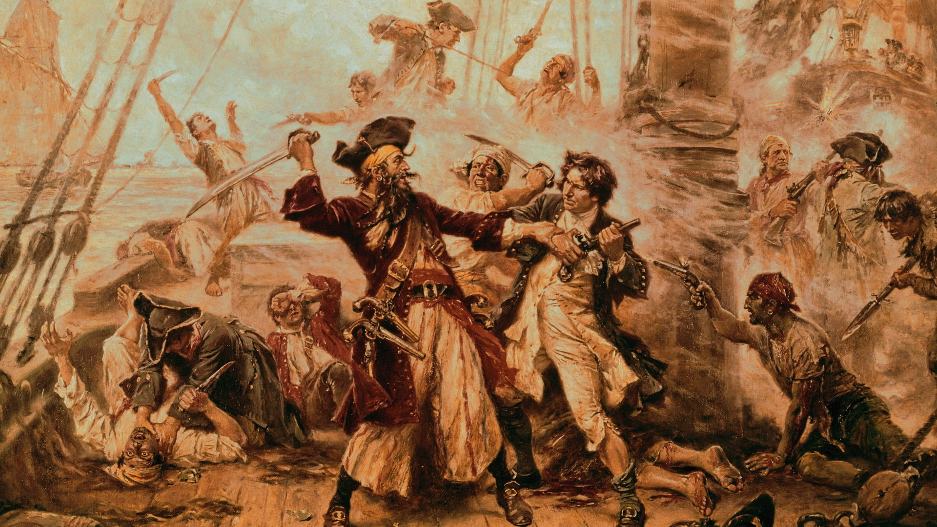 pirates in colonial america Though spain remained a weak power for the rest of the colonial period, pirates in large the history of piracy in the caribbean and central america.