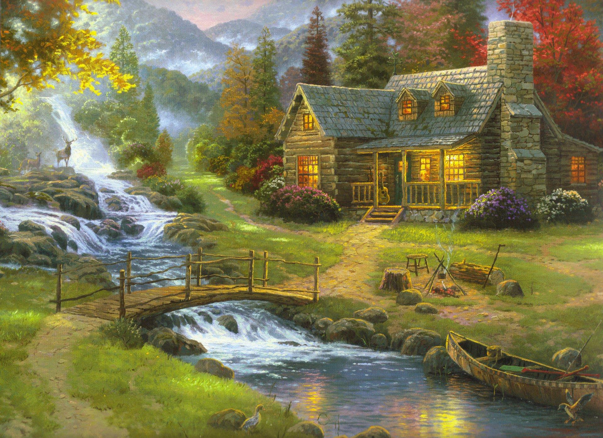 Картинки природы леса реки